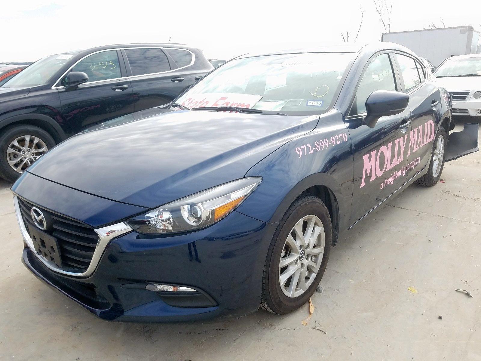 JM1BN1U78H1141704 - 2017 Mazda 3 Sport 2.0L Right View