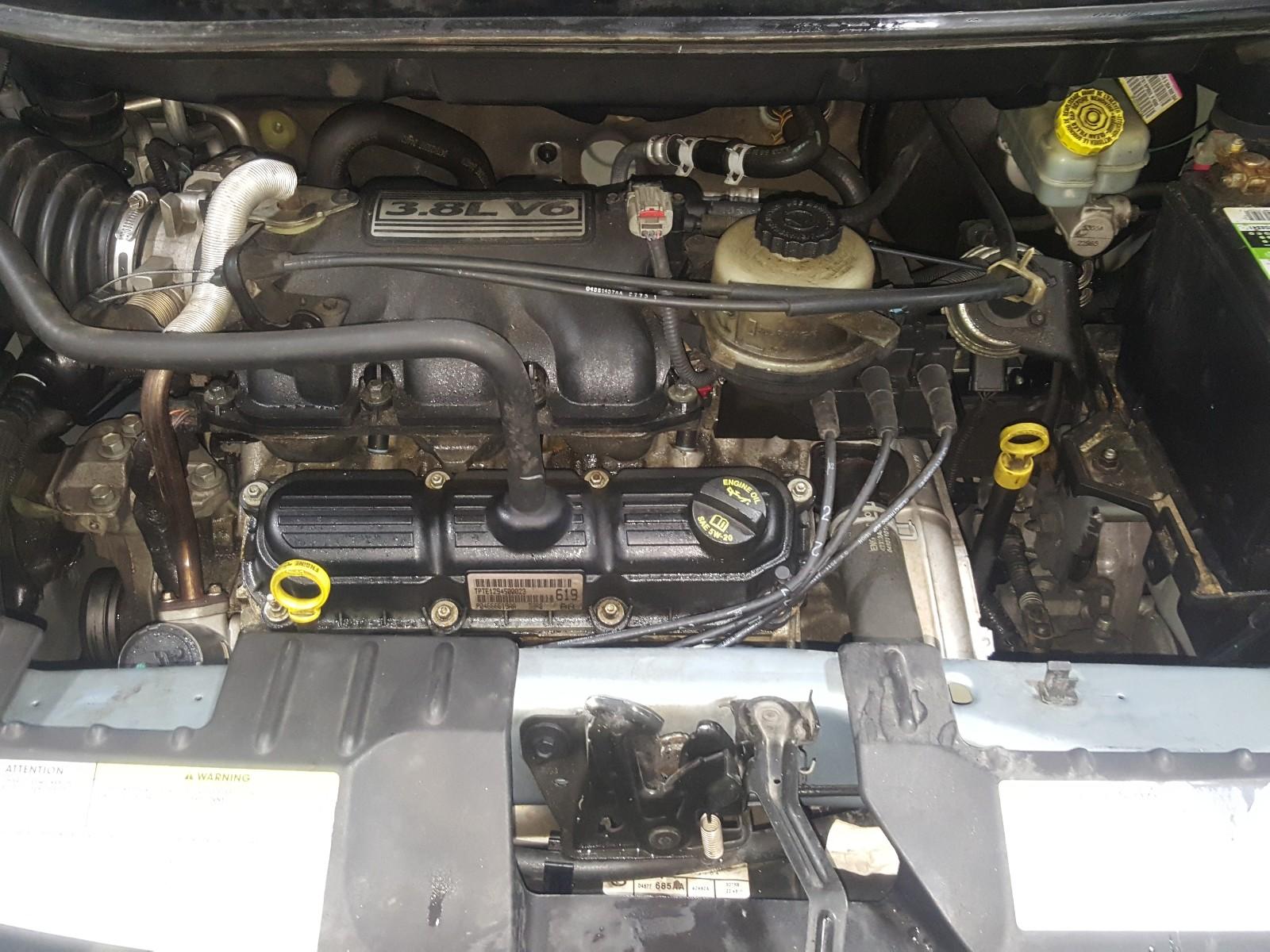 2A4GP54L46R728232 - 2006 Chrysler Town & Cou 3.8L inside view