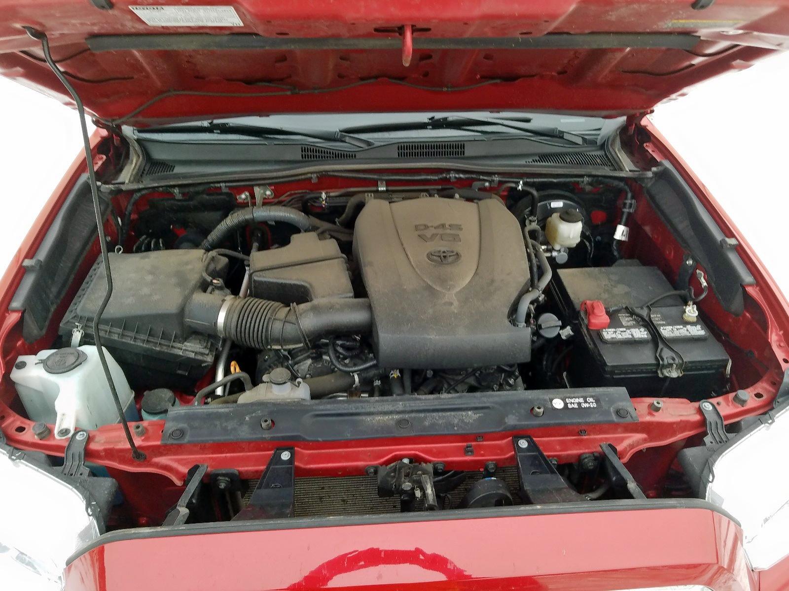 3TMGZ5AN4GM027477 - 2016 Toyota Tacoma Dou 3.5L inside view