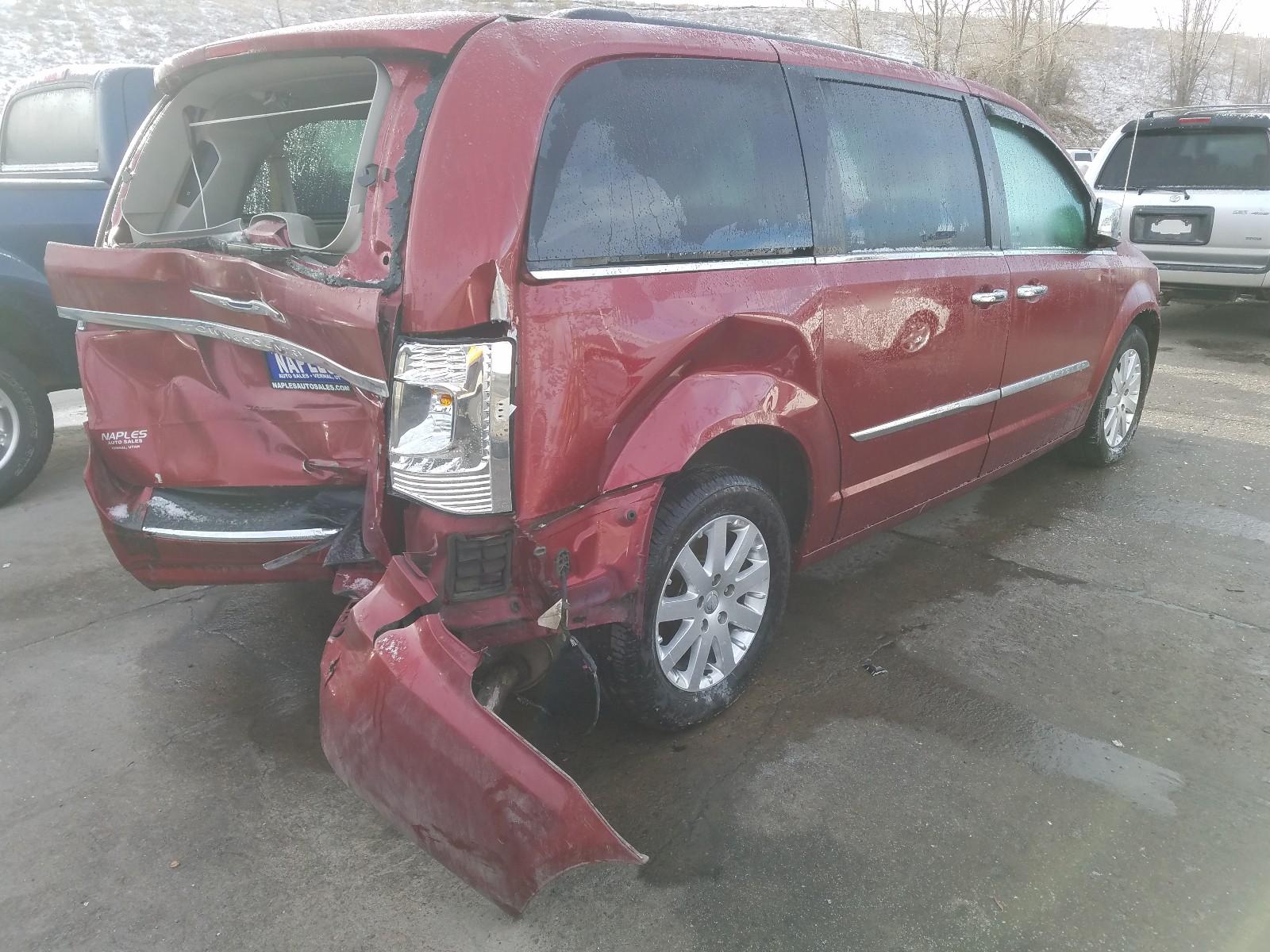 2C4RC1CG9CR362352 - 2012 Chrysler Town & Cou 3.6L rear view