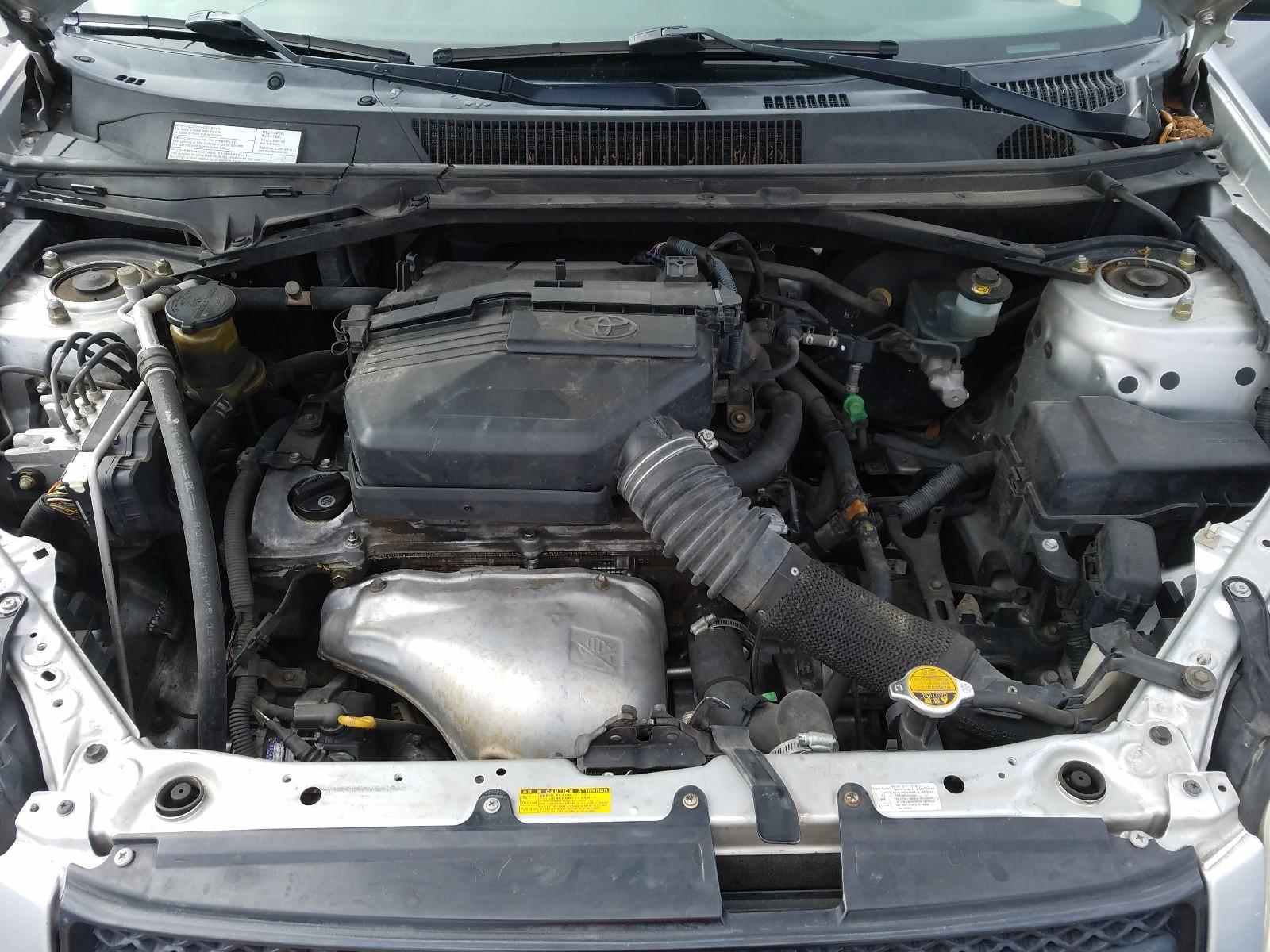 JTEGD20V740042385 - 2004 Toyota Rav4 2.4L inside view