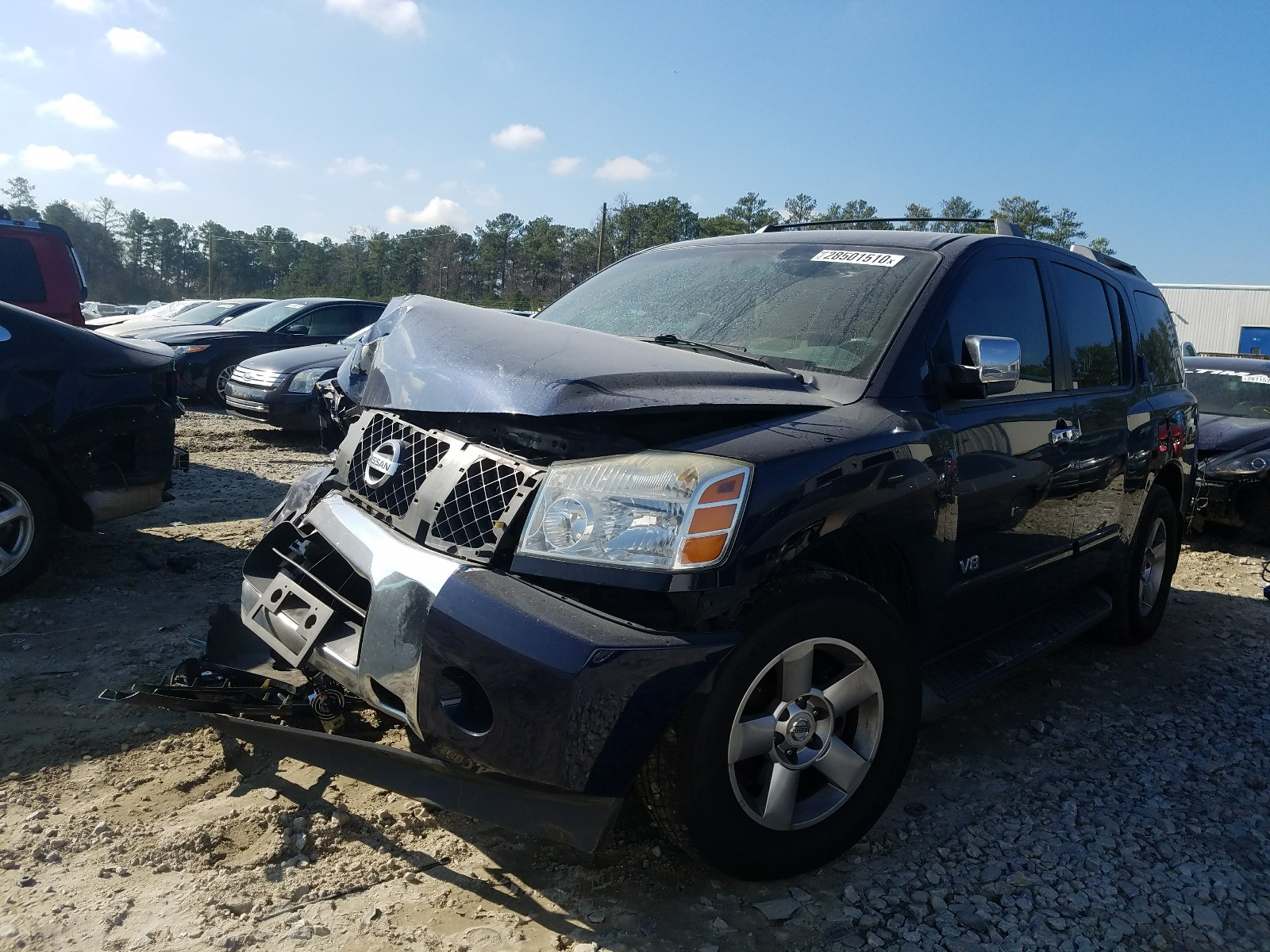5N1BA08A57N707784 - 2007 Nissan Armada Se 5.6L Right View