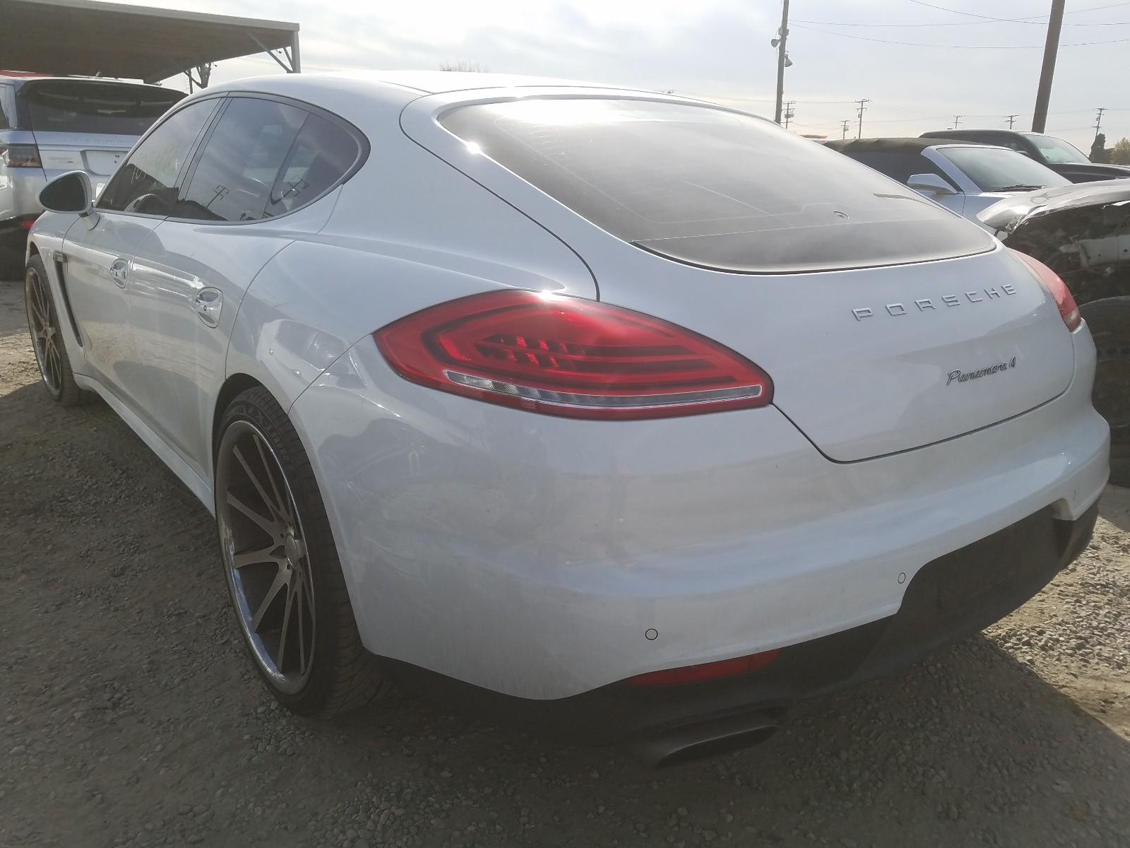 WP0AA2A79EL007804 - 2014 Porsche Panamera 2 3.6L [Angle] View