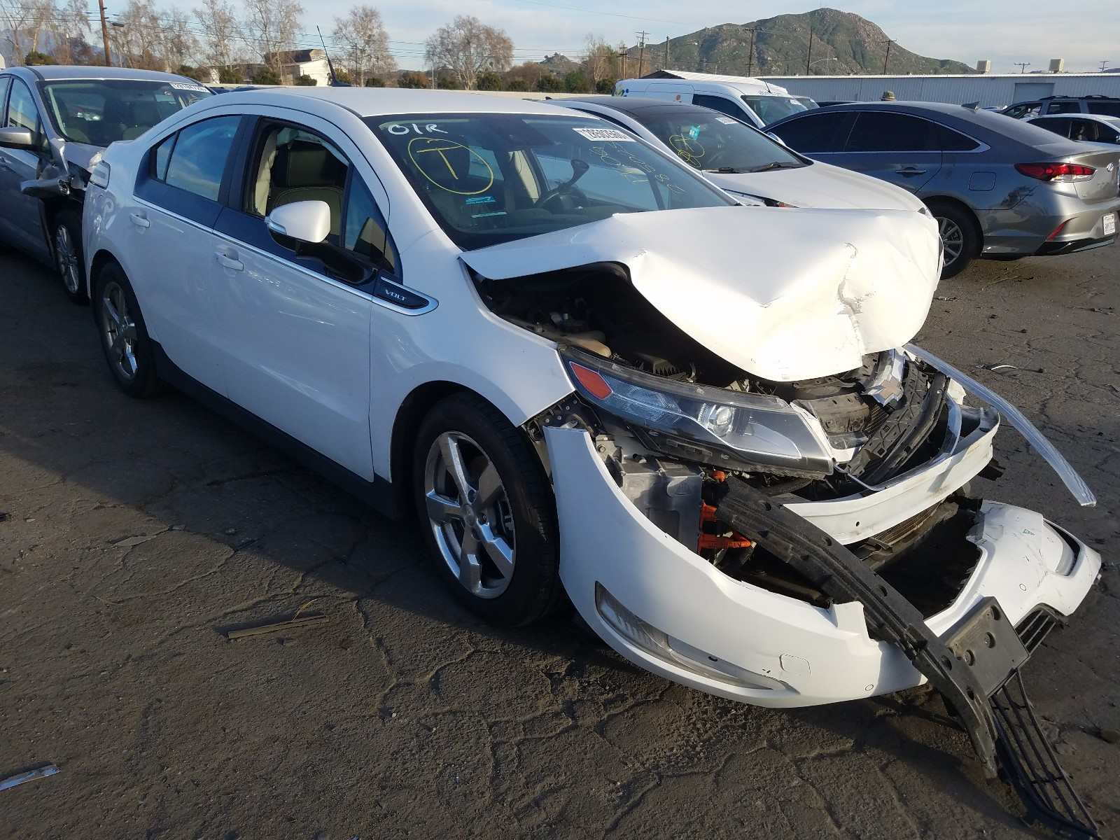 1G1RH6E47DU131223 - 2013 Chevrolet Volt 1.4L Left View