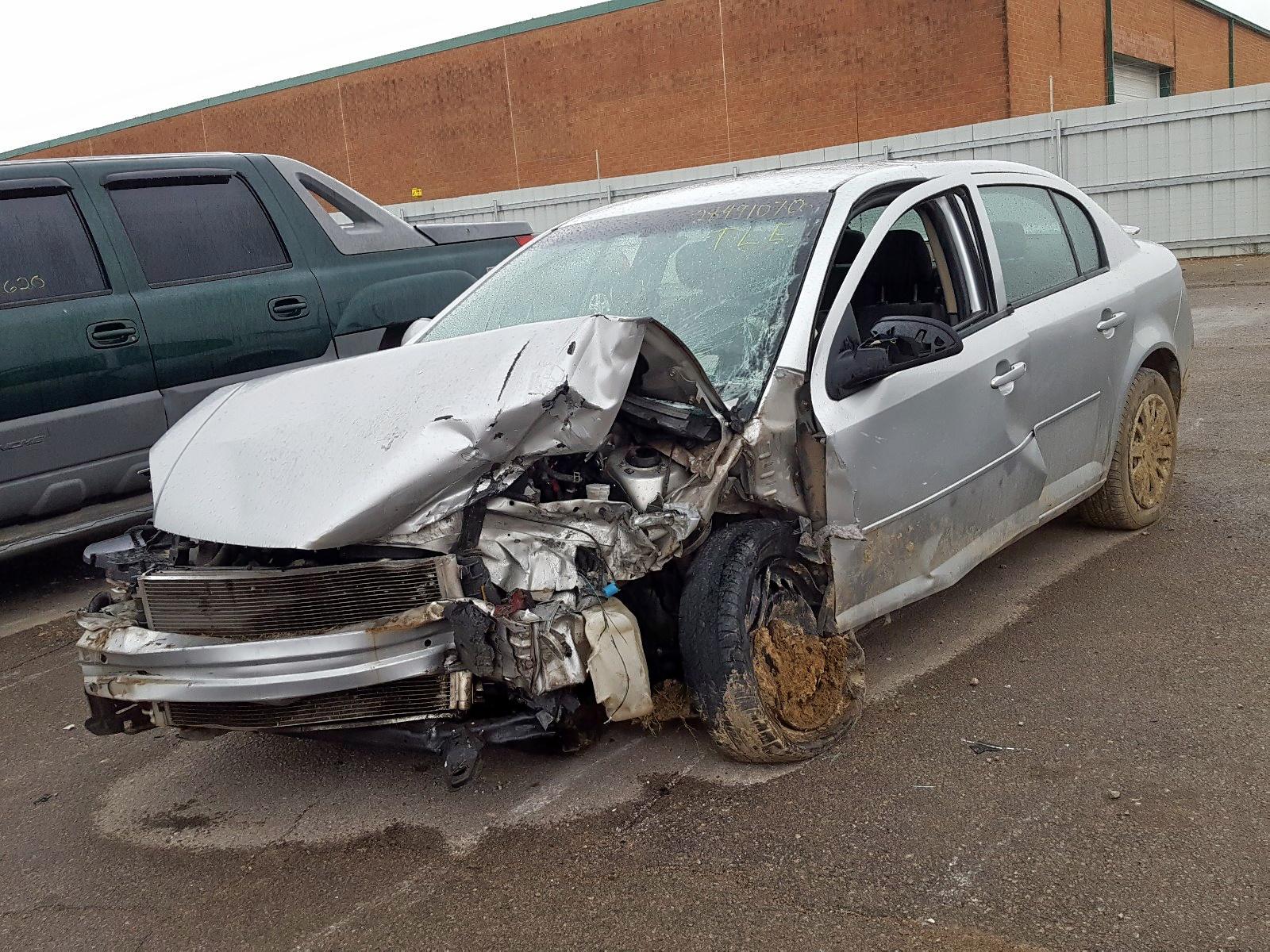 1G1AD5F50A7224606 - 2010 Chevrolet Cobalt 1Lt 2.2L Right View