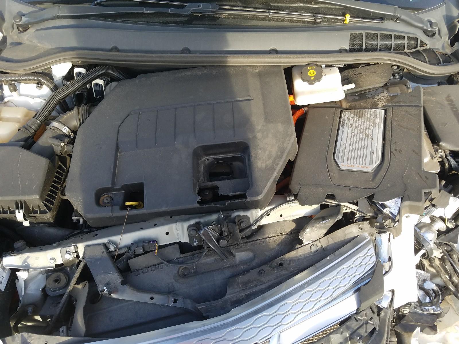 1G1RH6E47DU131223 - 2013 Chevrolet Volt 1.4L inside view