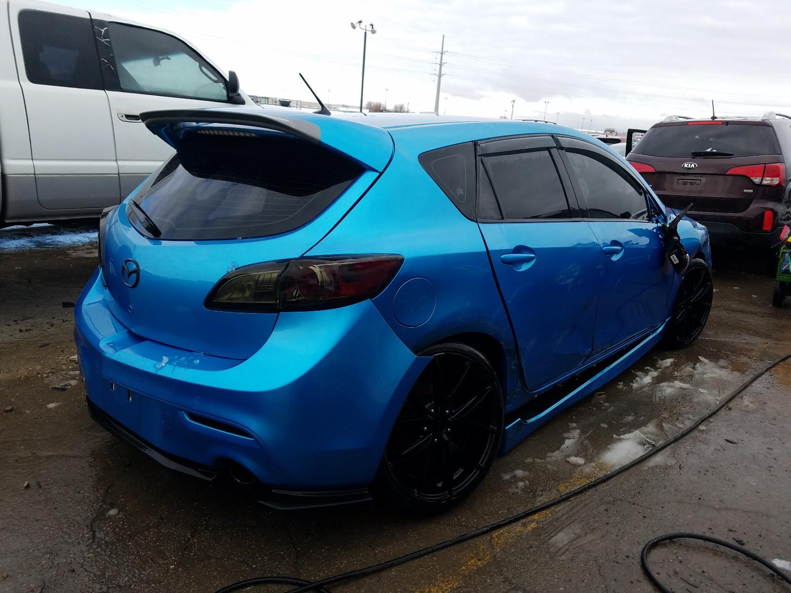 JM1BL1K37B1400261 - 2011 Mazda Speed 3 2.3L rear view