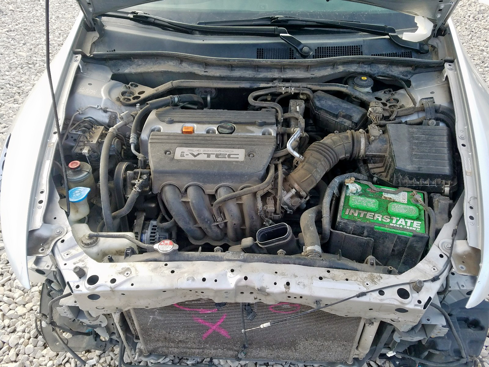 JHMCP26898C039017 - 2008 Honda Accord Exl 2.4L inside view
