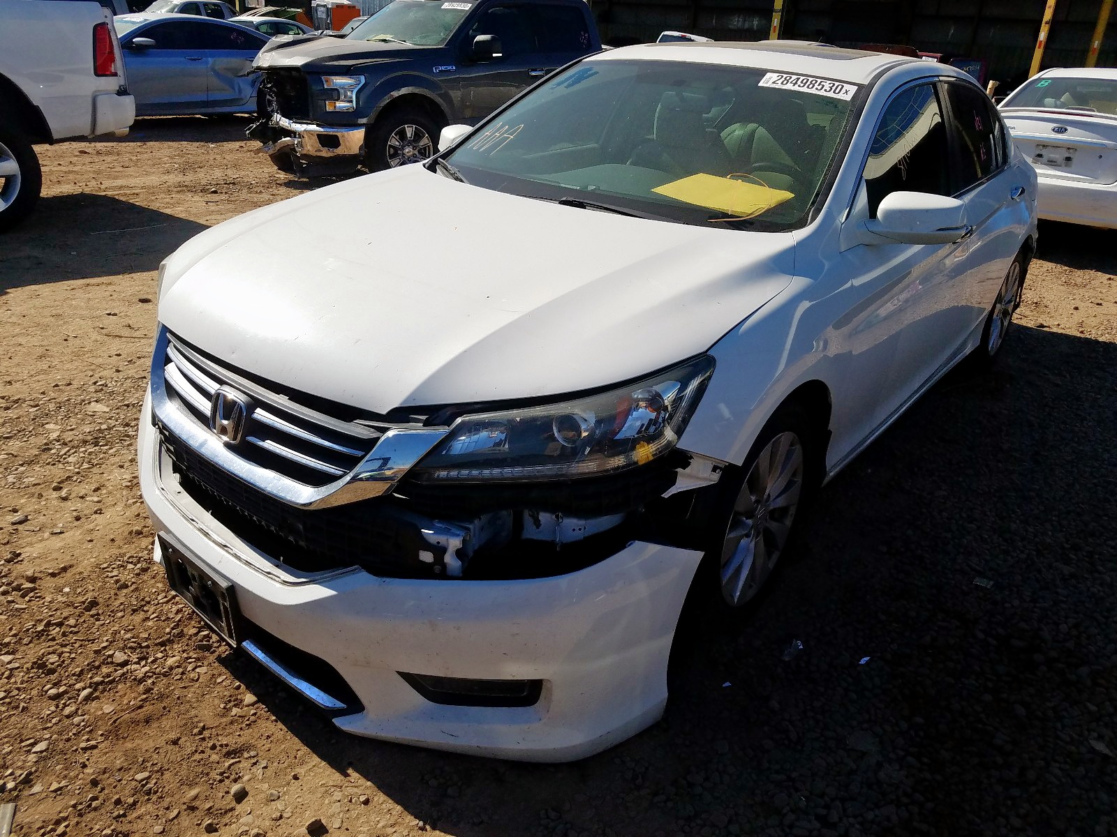 1HGCR2F75EA217906 - 2014 Honda Accord Ex 2.4L Right View