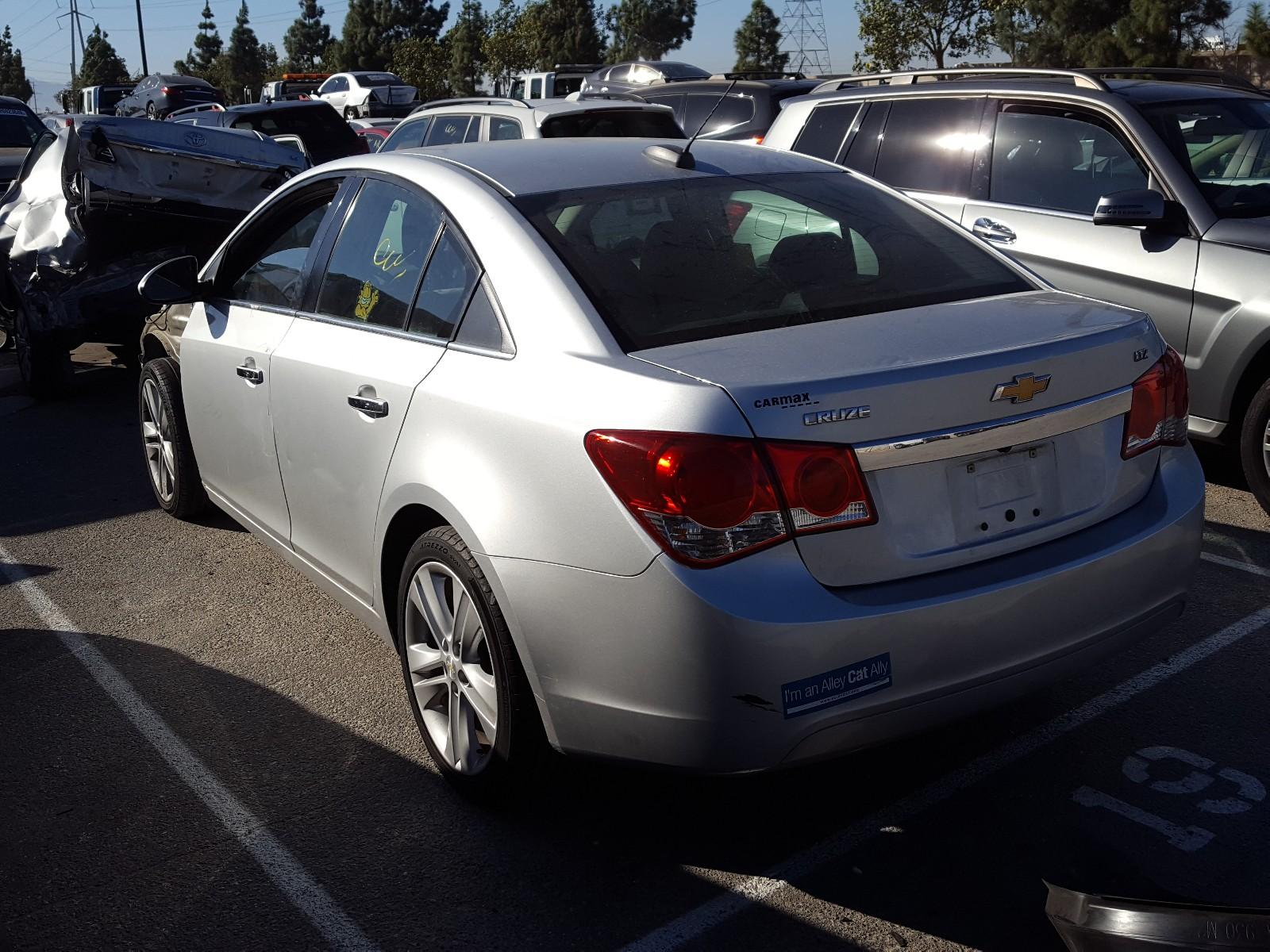 1G1PG5SB0G7130991 - 2016 Chevrolet Cruze Limi 1.4L [Angle] View