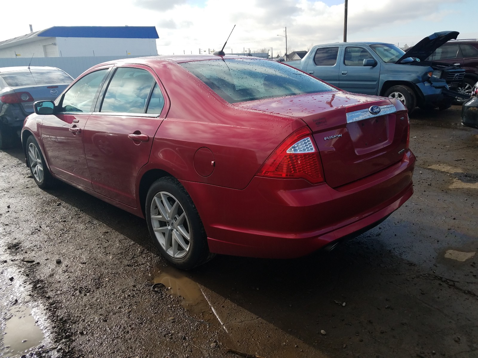 2012 Ford Fusion Sel 3.0L [Angle] View