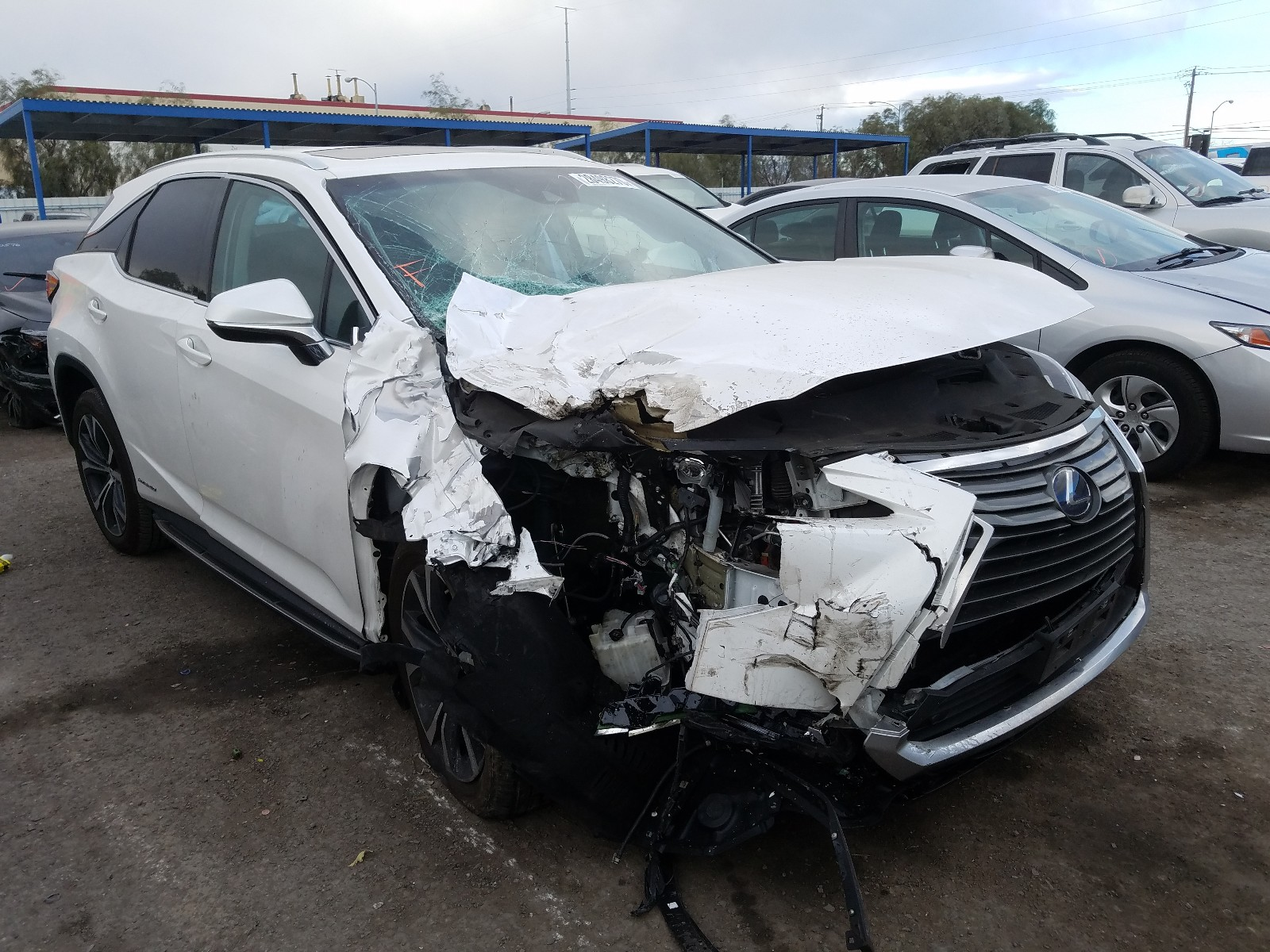 2T2BGMCA3KC032185 - 2019 Lexus Rx 450H Ba 3.5L Left View