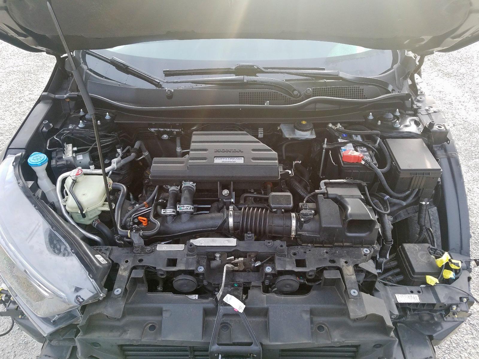 2HKRW2H82HH634940 - 2017 Honda Cr-V Exl 1.5L inside view