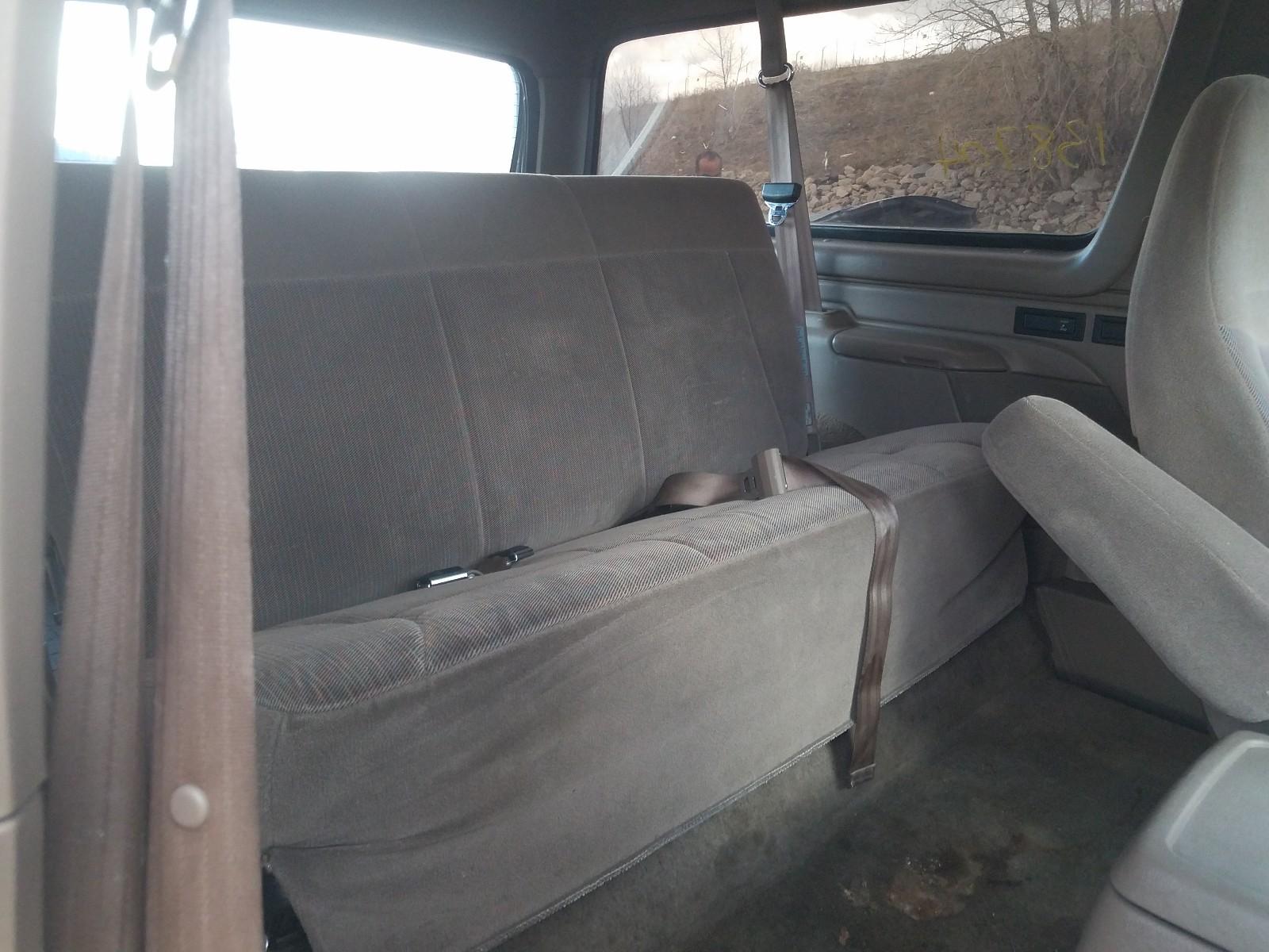 1FMEU15H6TLB33648 - 1996 Ford Bronco U10 5.8L detail view