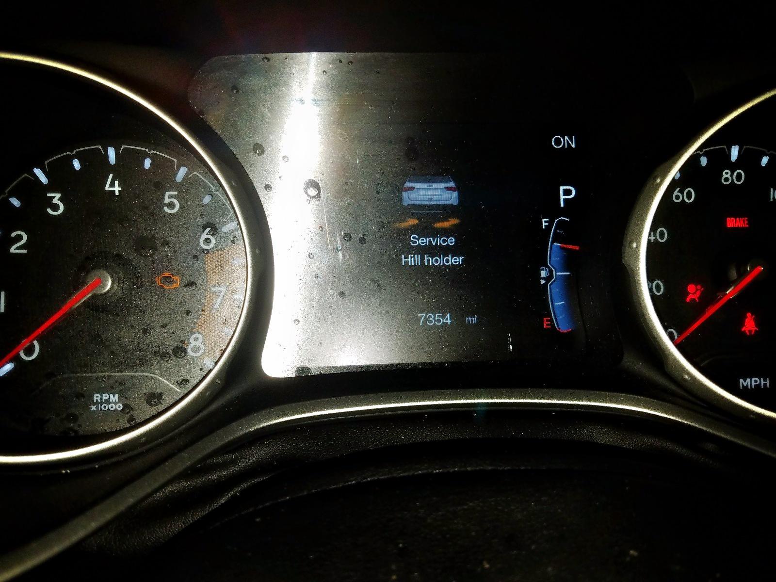 2018 Jeep Compass La 2.4L front view