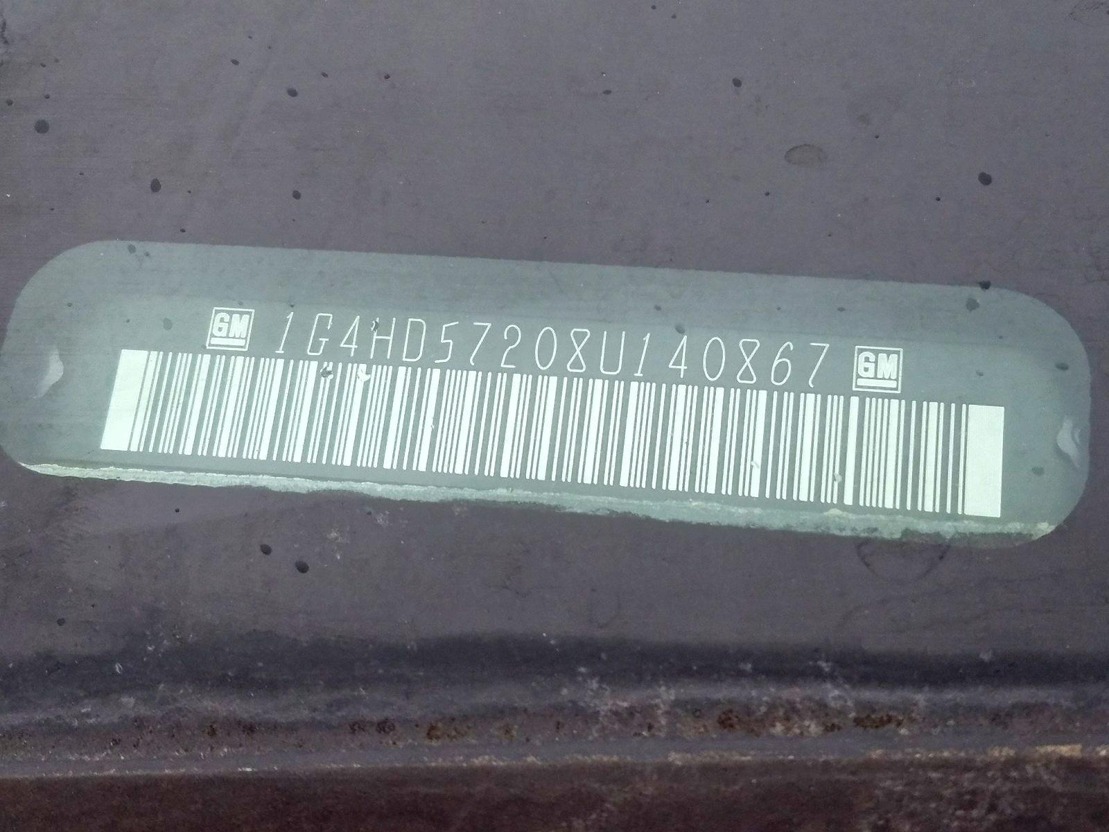 1G4HD57208U140867 - 2008 Buick Lucerne Cx 3.8L