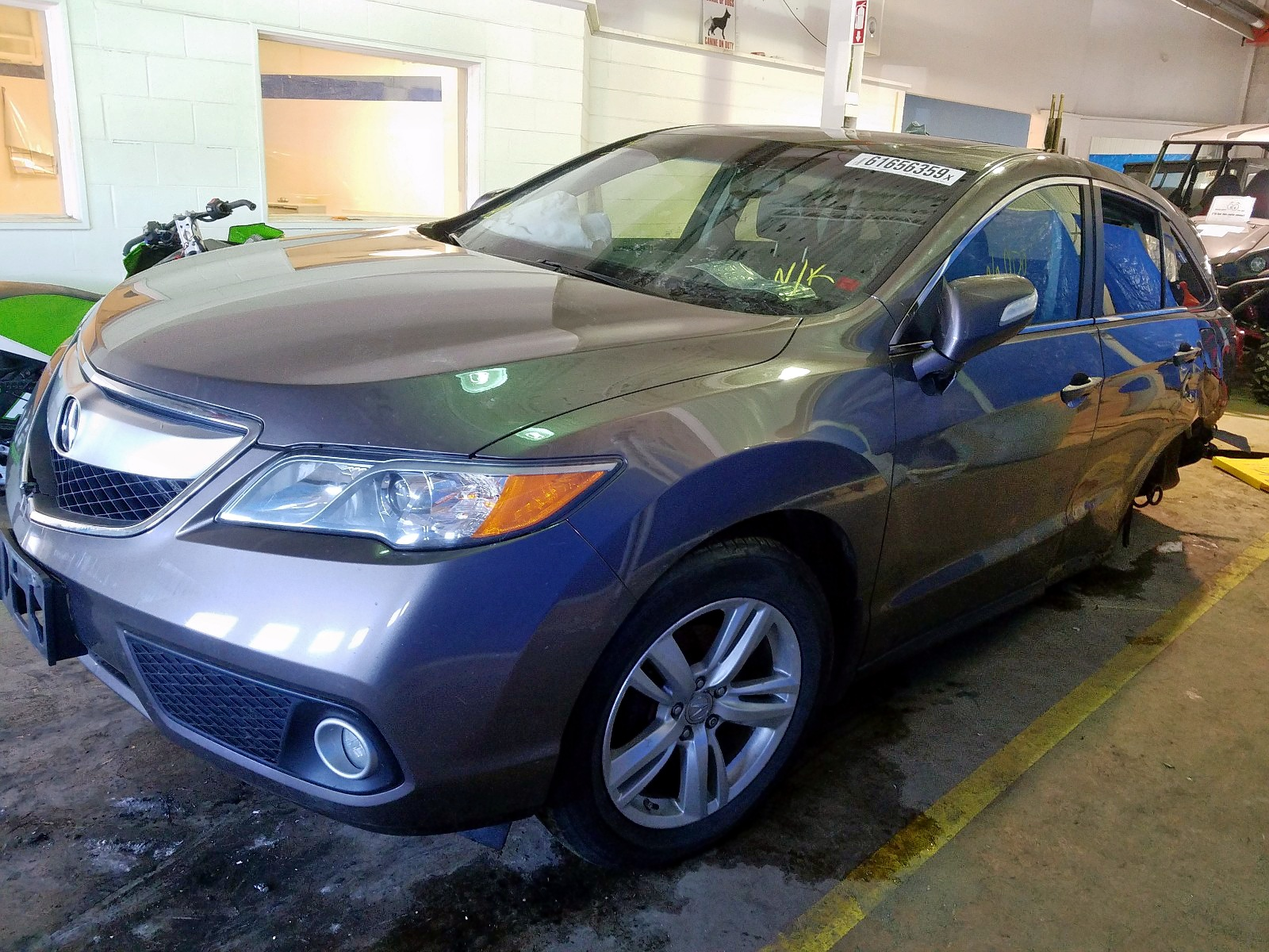 2013 Acura Rdx For Sale At Copart Moncton Nb Lot 61656359 Salvagereseller Com