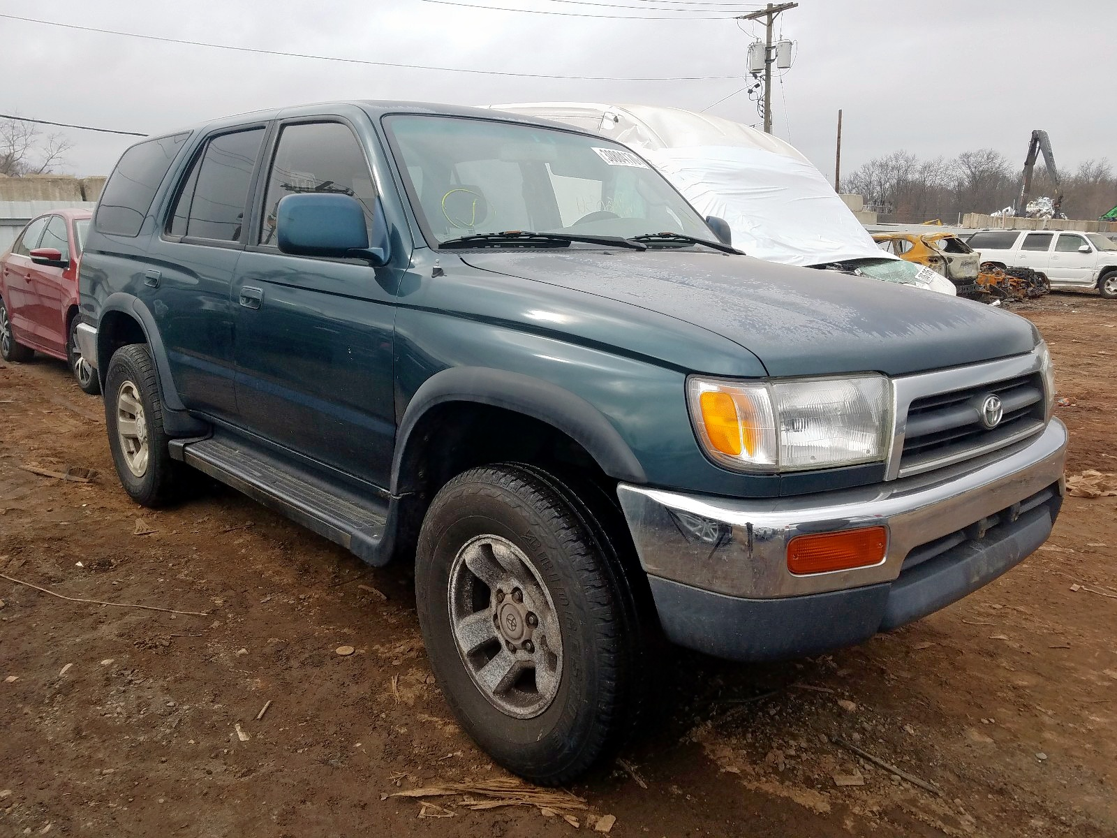 1997 toyota 4runner sr for sale at copart marlboro ny lot 30804170 salvagereseller com salvagereseller com