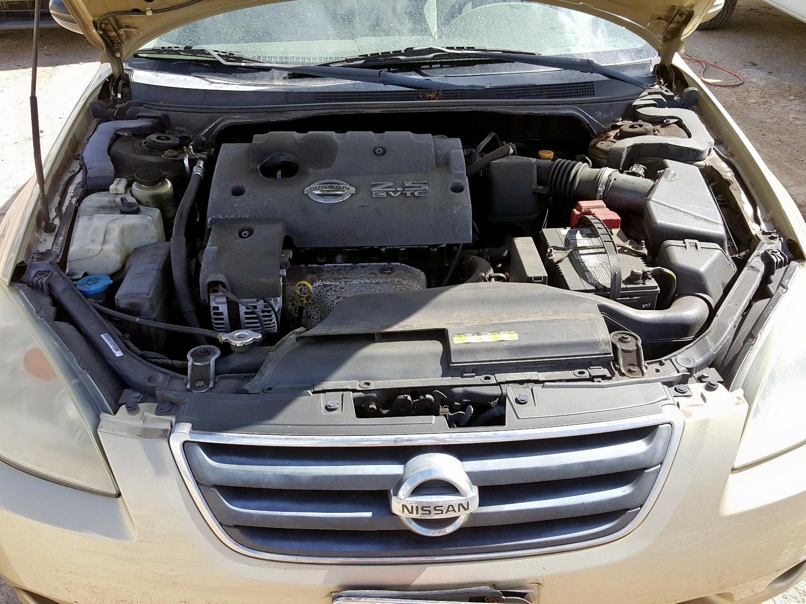 1N4AL11D14C170056 - 2004 Nissan Altima Bas 2.5L inside view