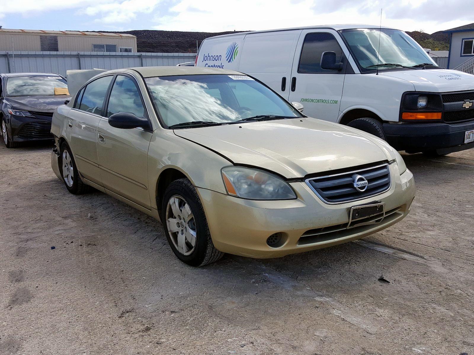 1N4AL11D14C170056 - 2004 Nissan Altima Bas 2.5L Left View