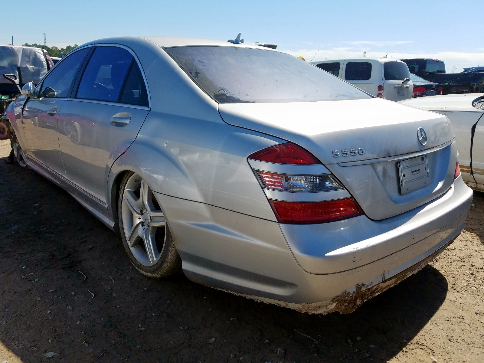 2008 Mercedes-Benz S 550 for sale at Copart Houston, TX ...