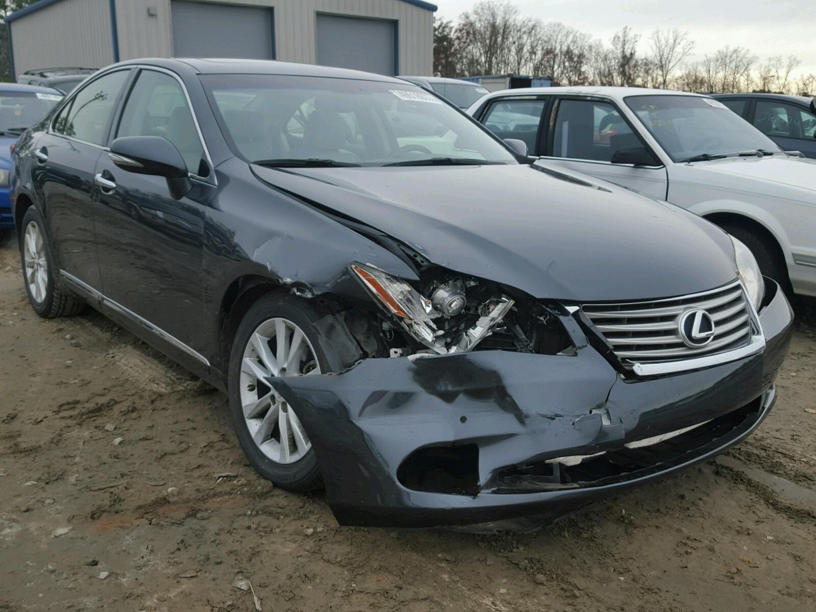 Auto Auction Ended on VIN: JTHBK1EG6B2419782 2011 LEXUS ES ...