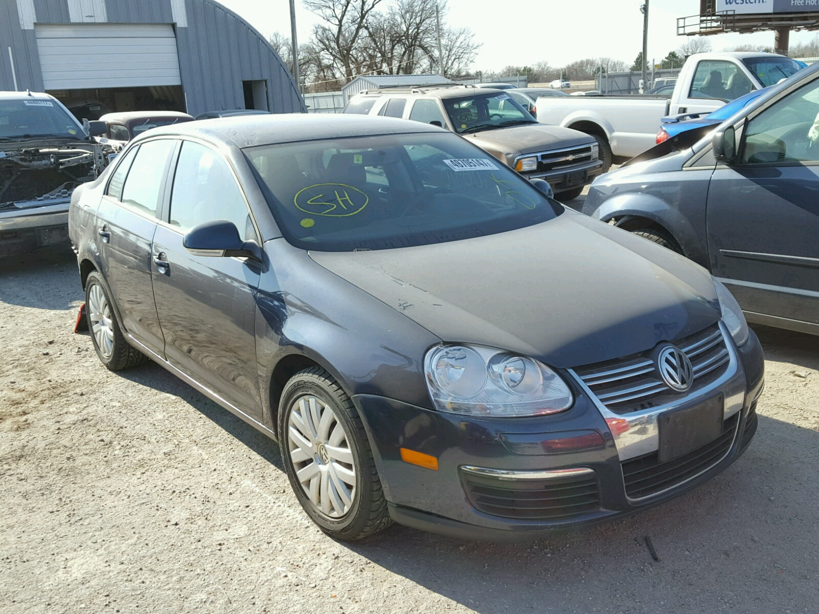 3vwjz7aj9am018289 2010 black volkswagen jetta s on sale in ks wichita lot 49705147. Black Bedroom Furniture Sets. Home Design Ideas