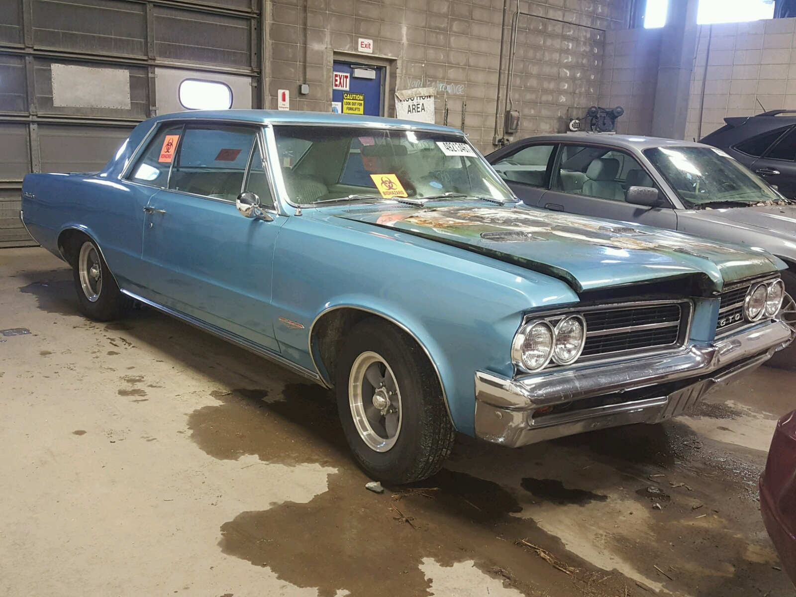 824m25209 1964 blue pontiac gto on sale in mn minneapolis lot 49213467. Black Bedroom Furniture Sets. Home Design Ideas
