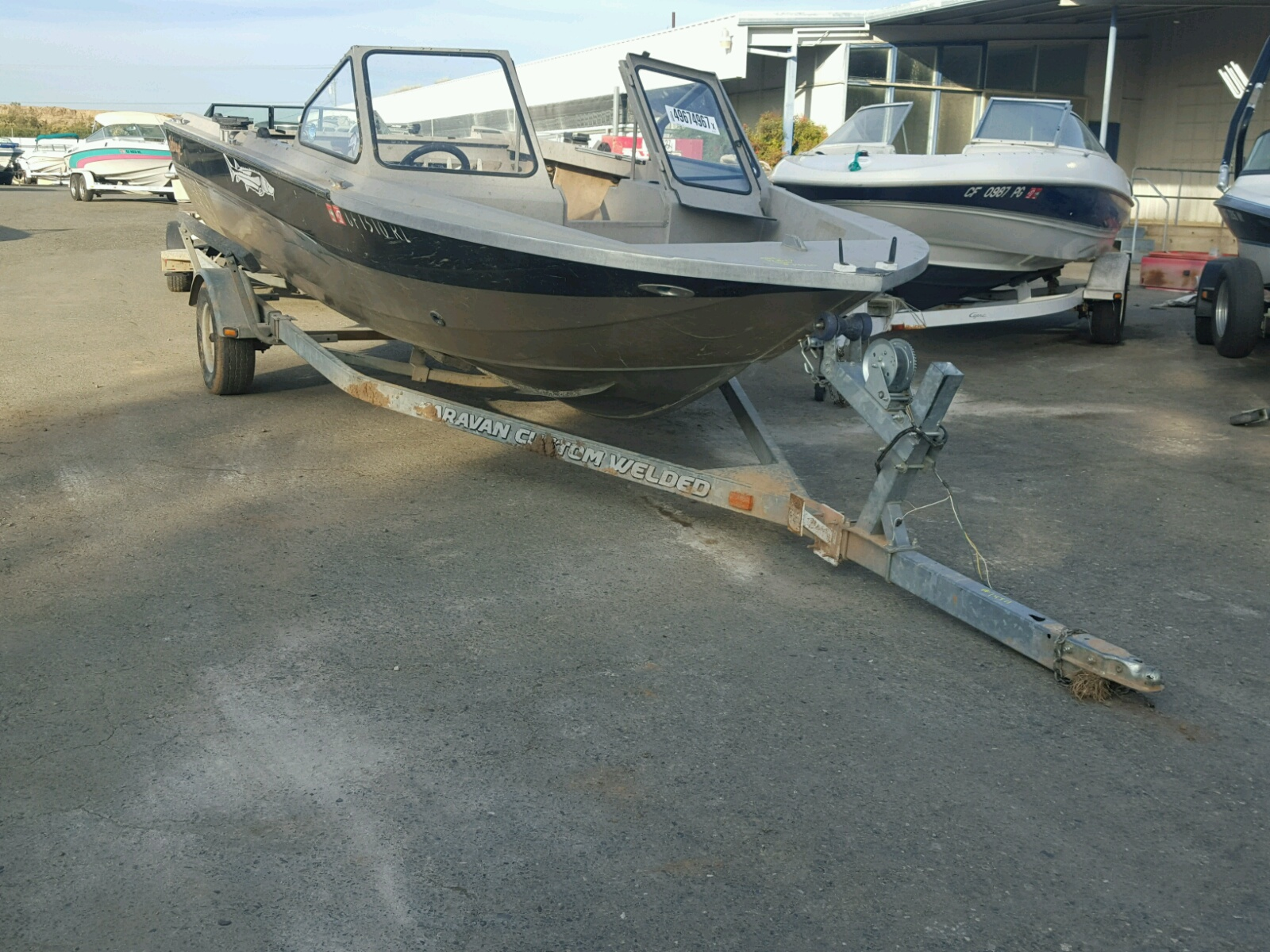 Salvage 2005 Jetc JETCRAFT for sale