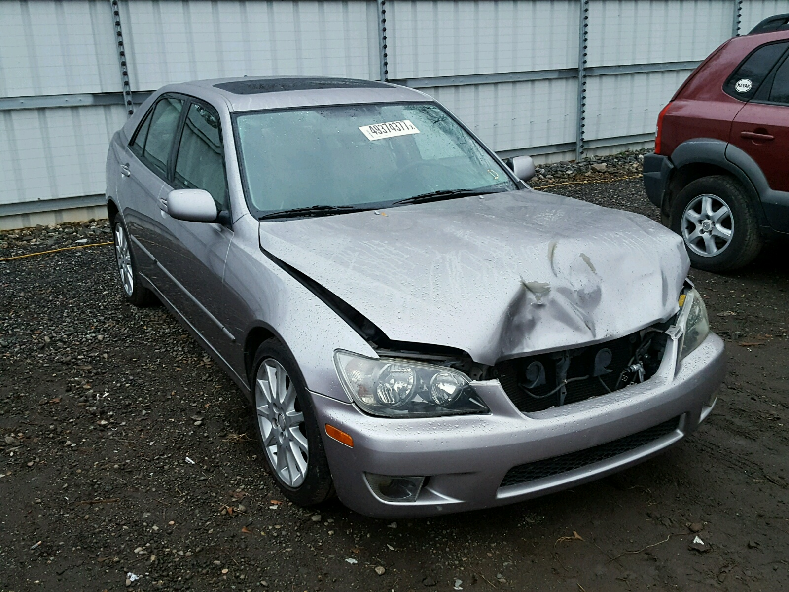 Auto Auction Ended on VIN: JTHBD192630079572 2003 Lexus Is 300 in SC - Greer