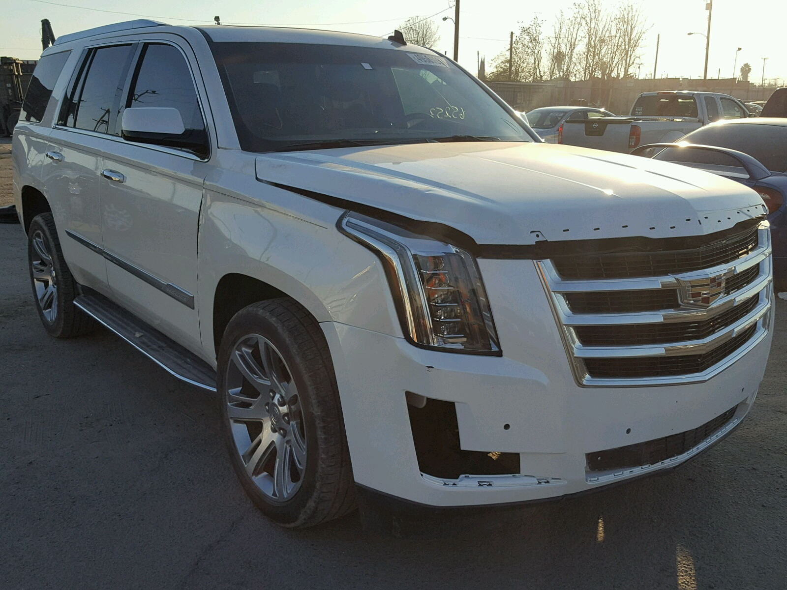 Copart Home Page >> 1GYS3BKJ9FR189196 | 2015 WHITE CADILLAC ESCALADE L on Sale in CA - LOS ANGELES | Lot 49566937