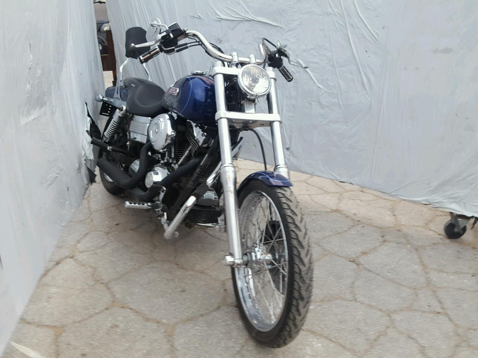 Salvage 2006 Harley-Davidson FXDWGI for sale