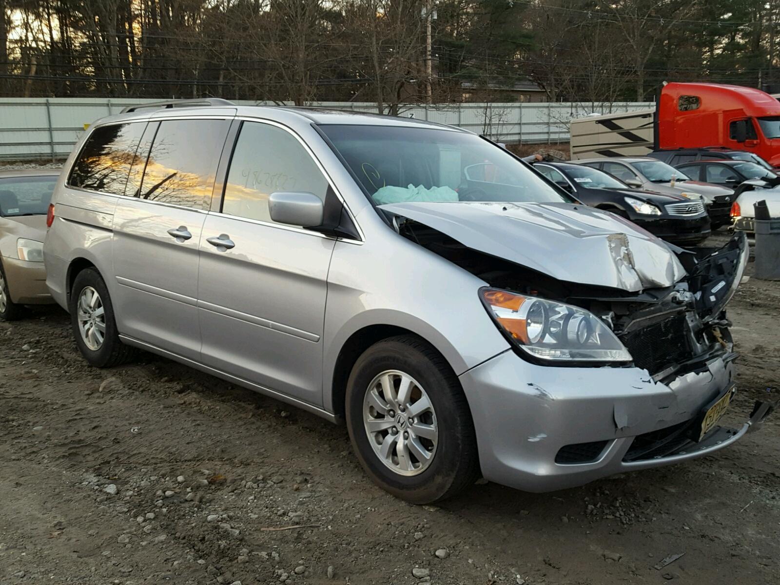 Salvage 2010 Honda ODYSSEY EX for sale