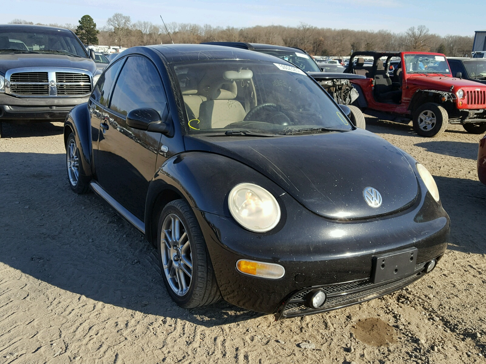 2002 Volkswagen New Beetle For Sale At Copart Conway Ar
