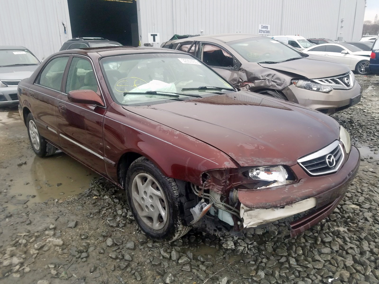 2001 mazda 626 es for sale at copart windsor nj lot 32357430 salvagereseller com salvagereseller com