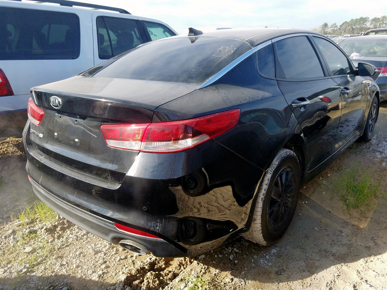5XXGT4L34JG217179 - 2018 Kia Optima Lx 2.4L rear view