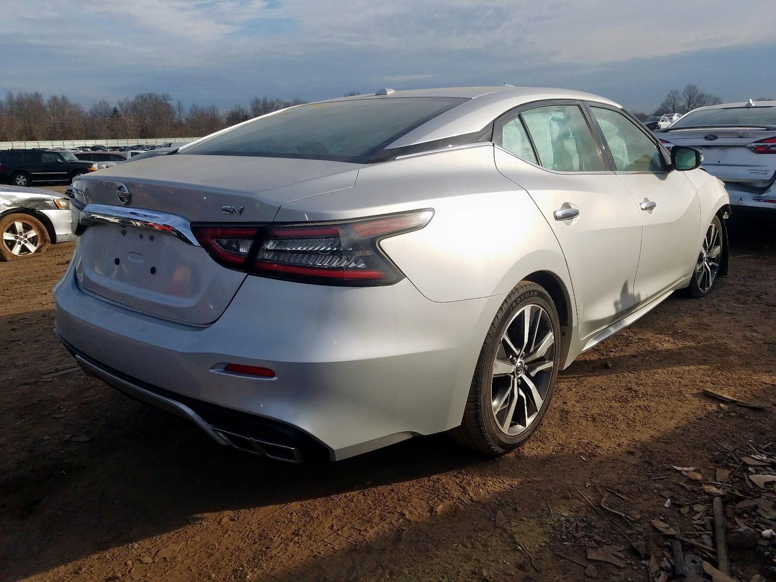 2019 Nissan Maxima S 3.5L 6 in Rental Vehicle Sale ...
