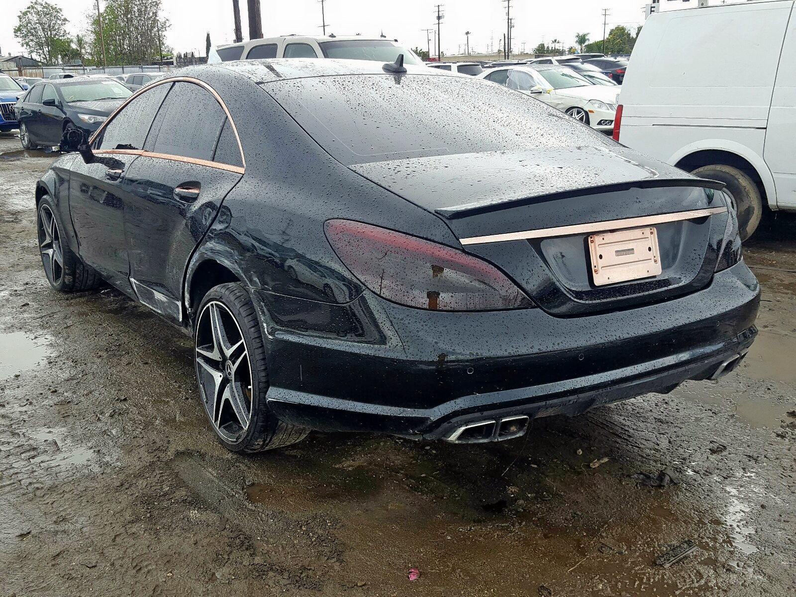 2012 Mercedes-Benz CLS 63 AMG for sale at Copart Los ...