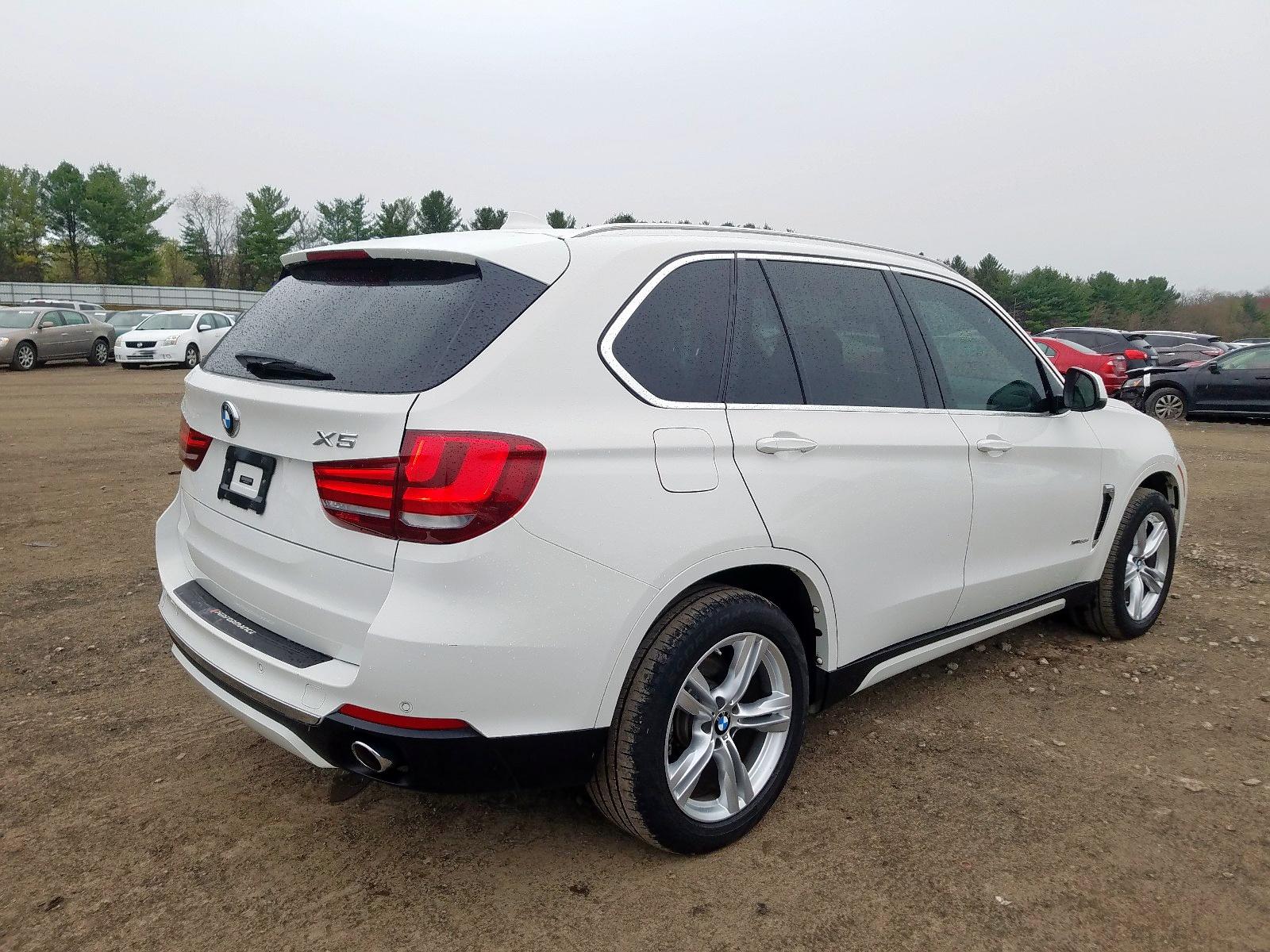 5UXKS4C54E0C07176 - 2014 Bmw X5 Xdrive3 3.0L rear view