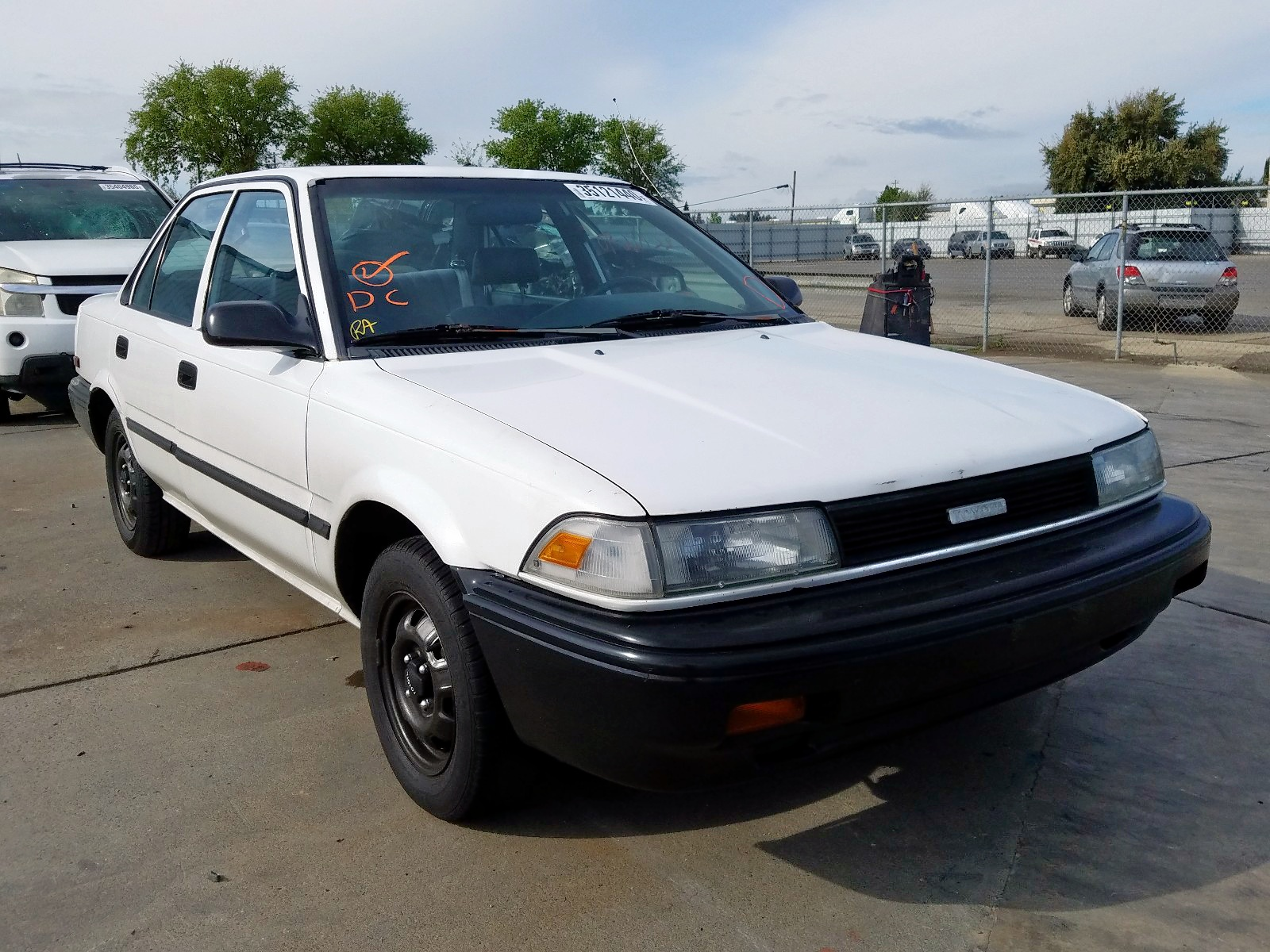1990 toyota corolla dl 1 6l 4 in ca so sacramento 1nxae94a4lz120647 for sale autobidmaster autobidmaster