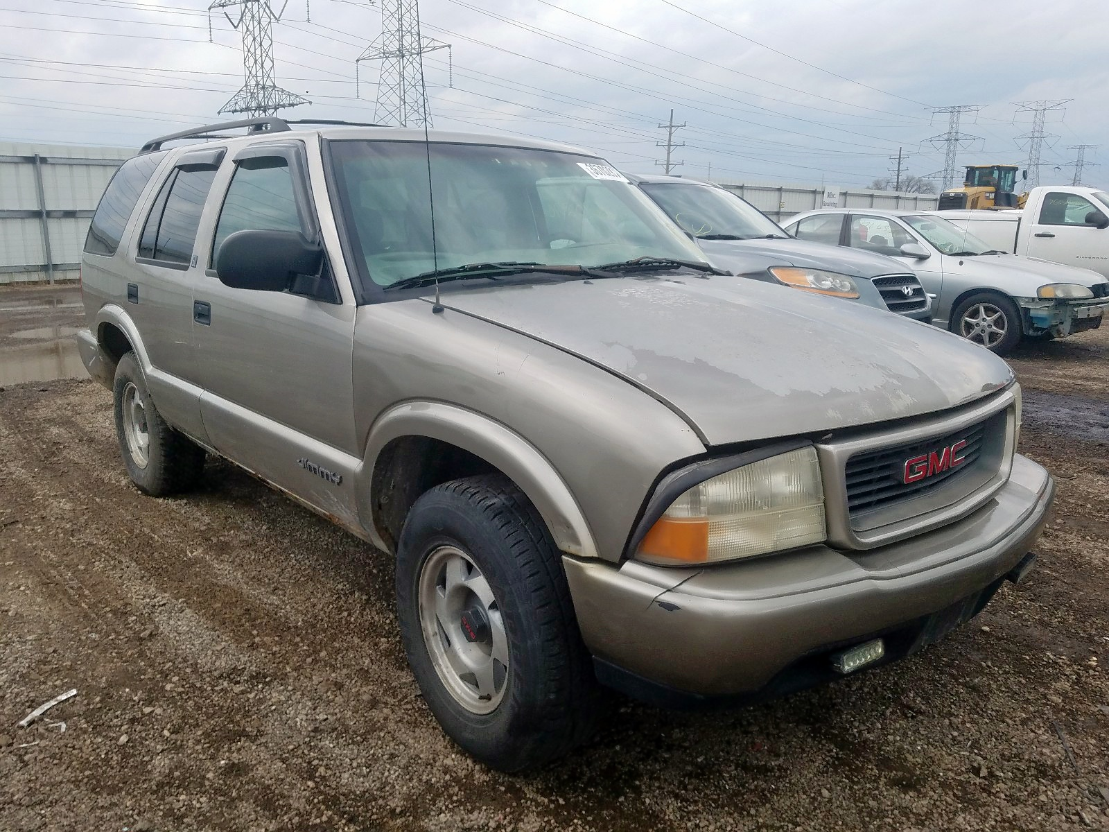 1999 gmc jimmy for sale at copart elgin il lot 36702970 salvagereseller com salvagereseller com