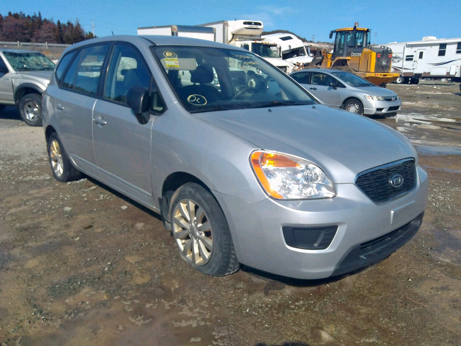 2012 kia rondo for sale at copart cow bay ns lot 33152820 salvagereseller com 2012 kia rondo for sale at copart cow