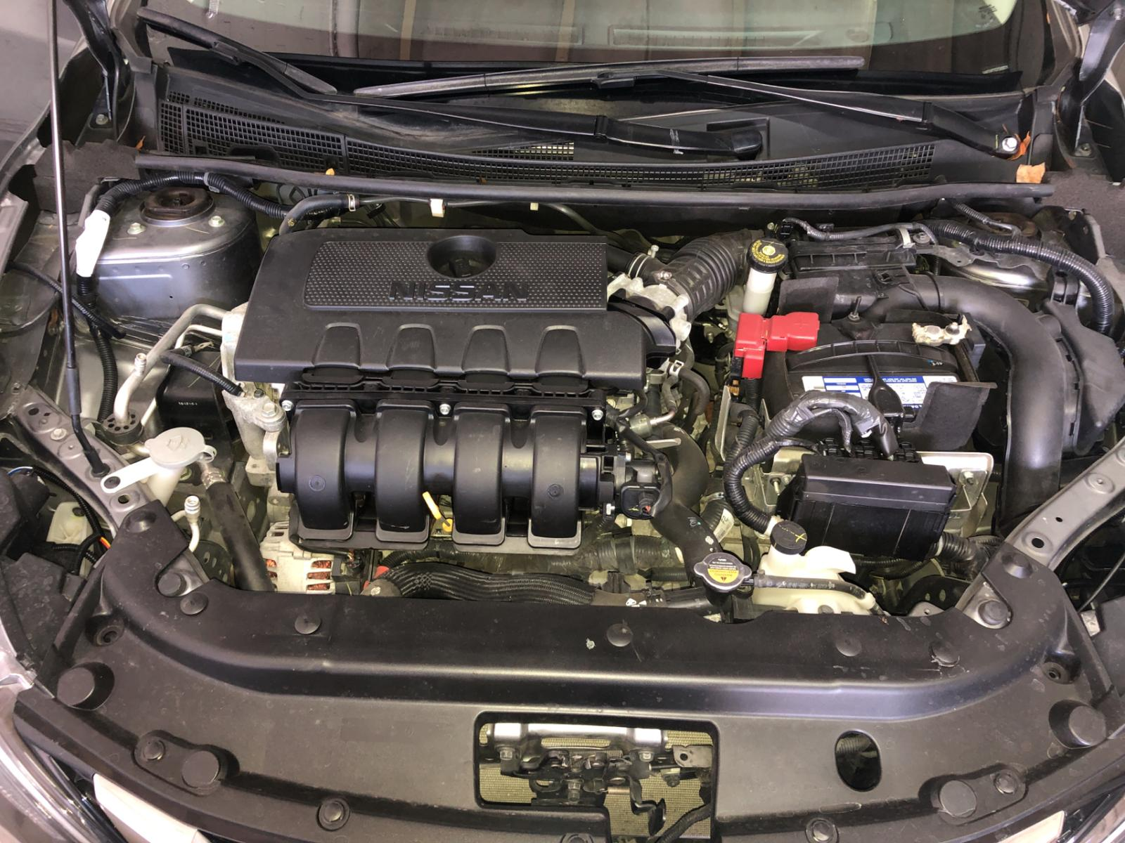 3N1AB7AP7GY245674 - 2016 Nissan Sentra S 1.8L inside view