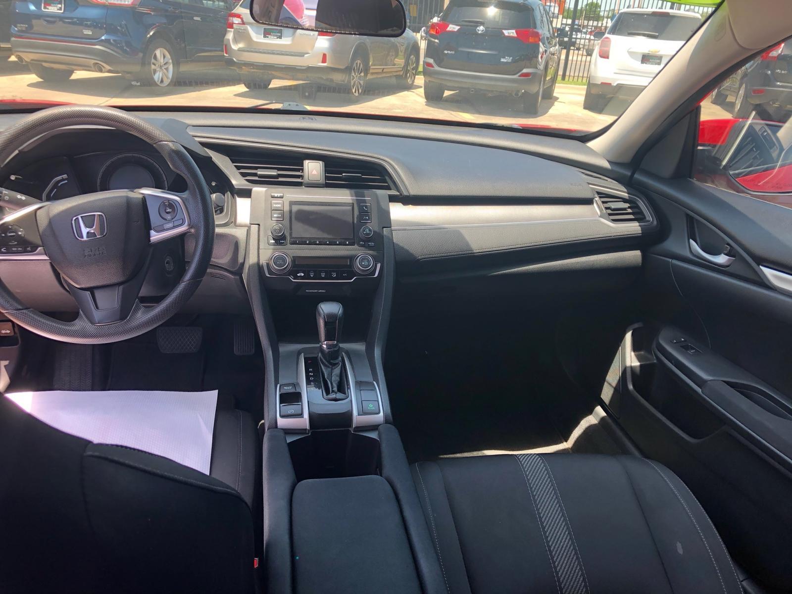 2016 Honda Civic Lx 2.0L engine view