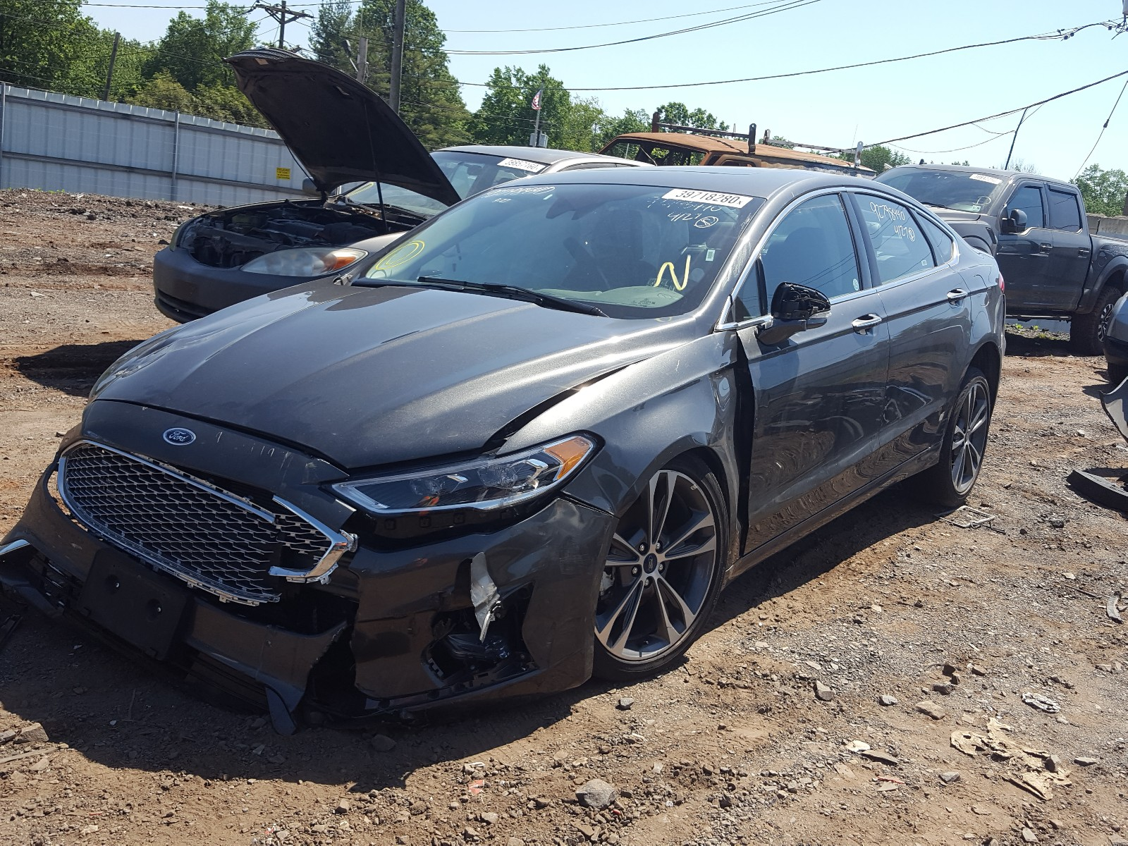 2019 Ford Fusion Tit