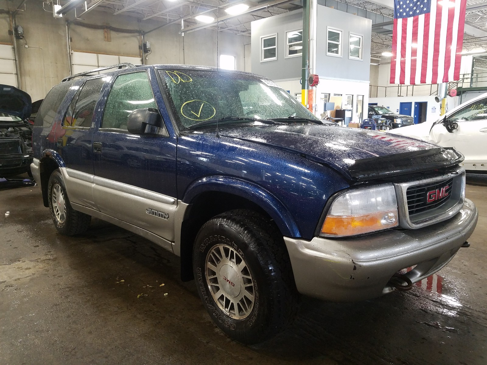 1999 gmc jimmy for sale at copart blaine mn lot 40721360 salvagereseller com 1999 gmc jimmy for sale at copart