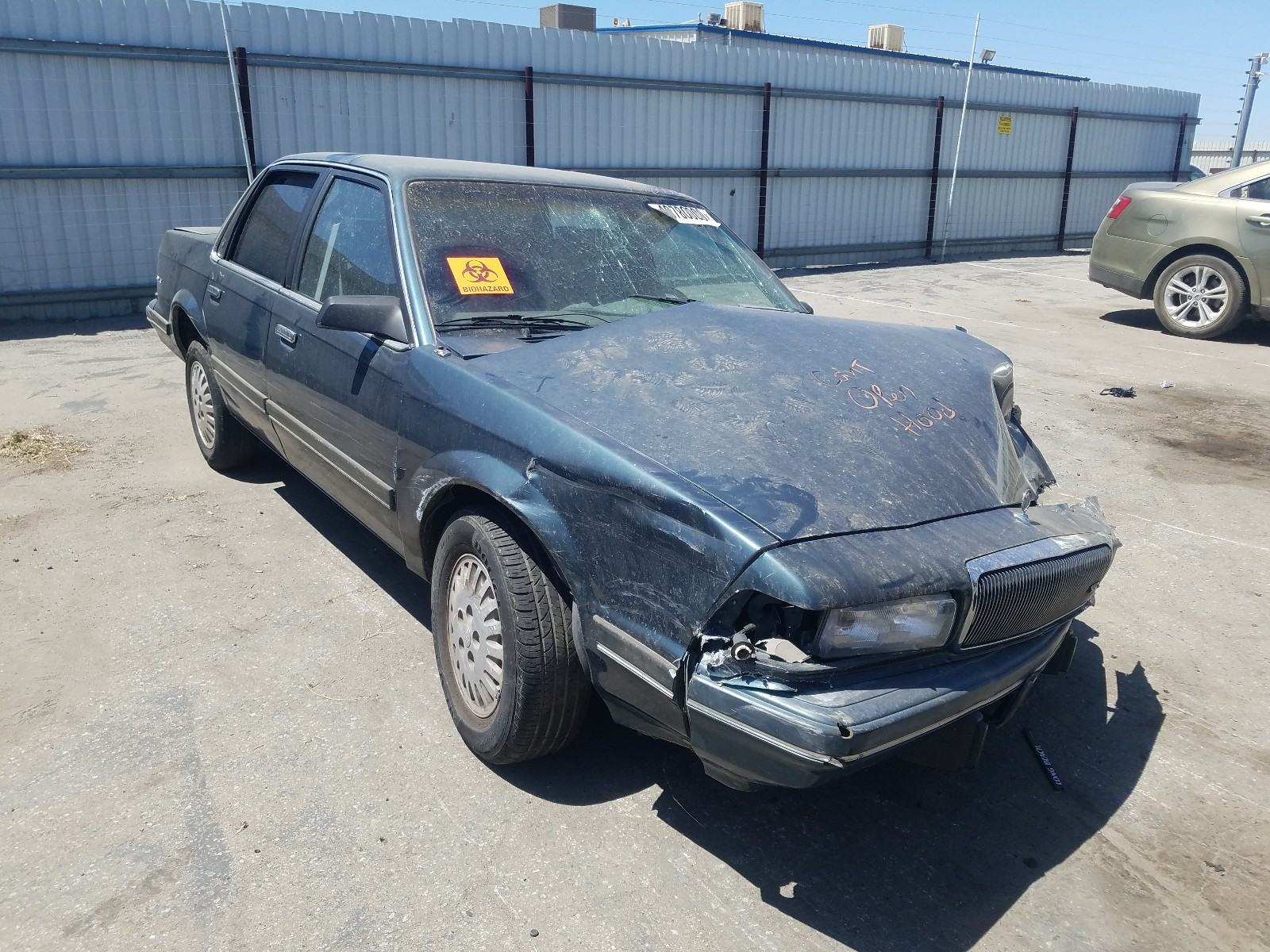 1994 buick century sp for sale at copart bakersfield ca lot 40780000 salvagereseller com salvagereseller com