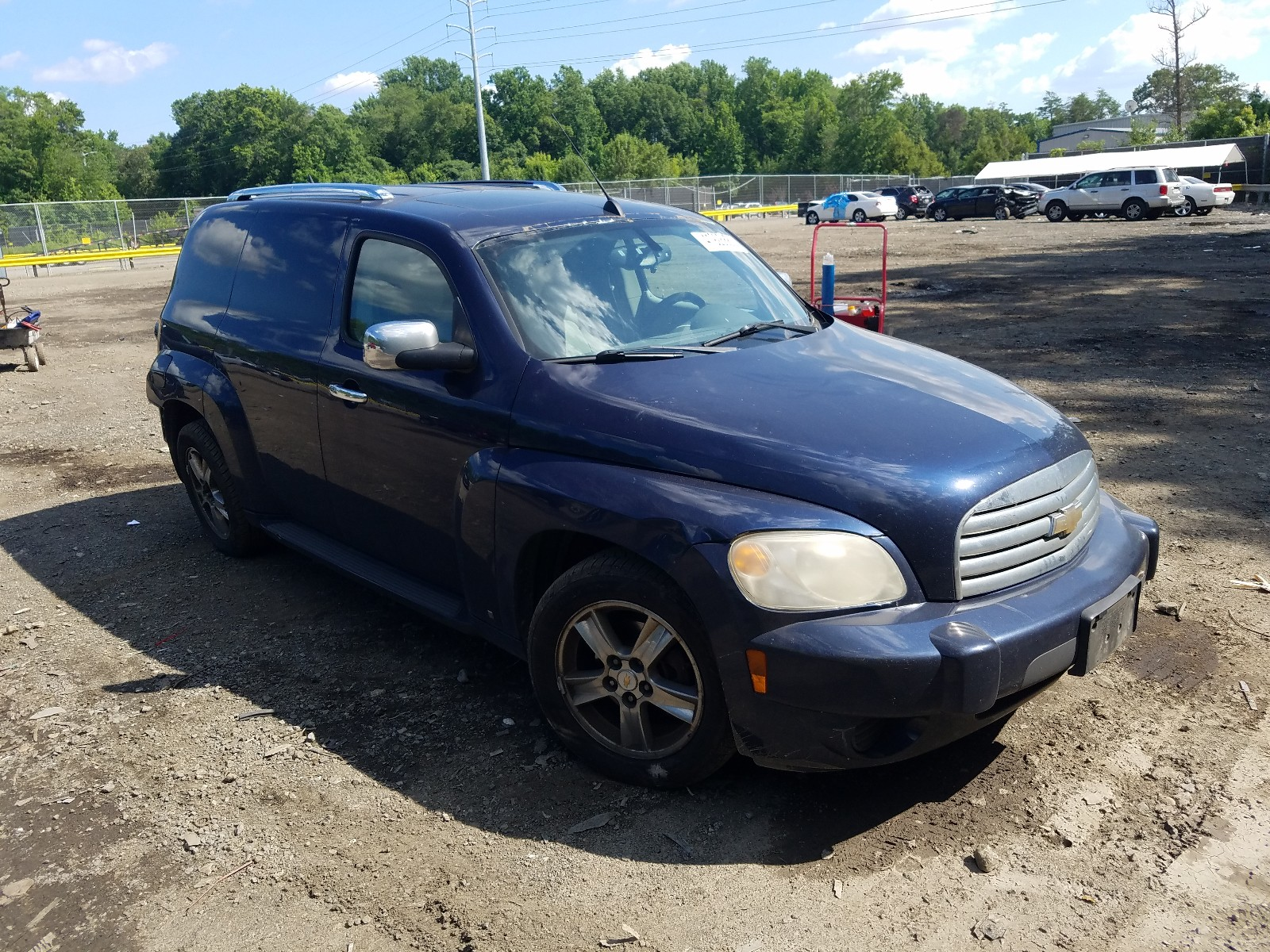 2008 Chevrolet Hhr Panel For Sale At Copart Waldorf Md Lot