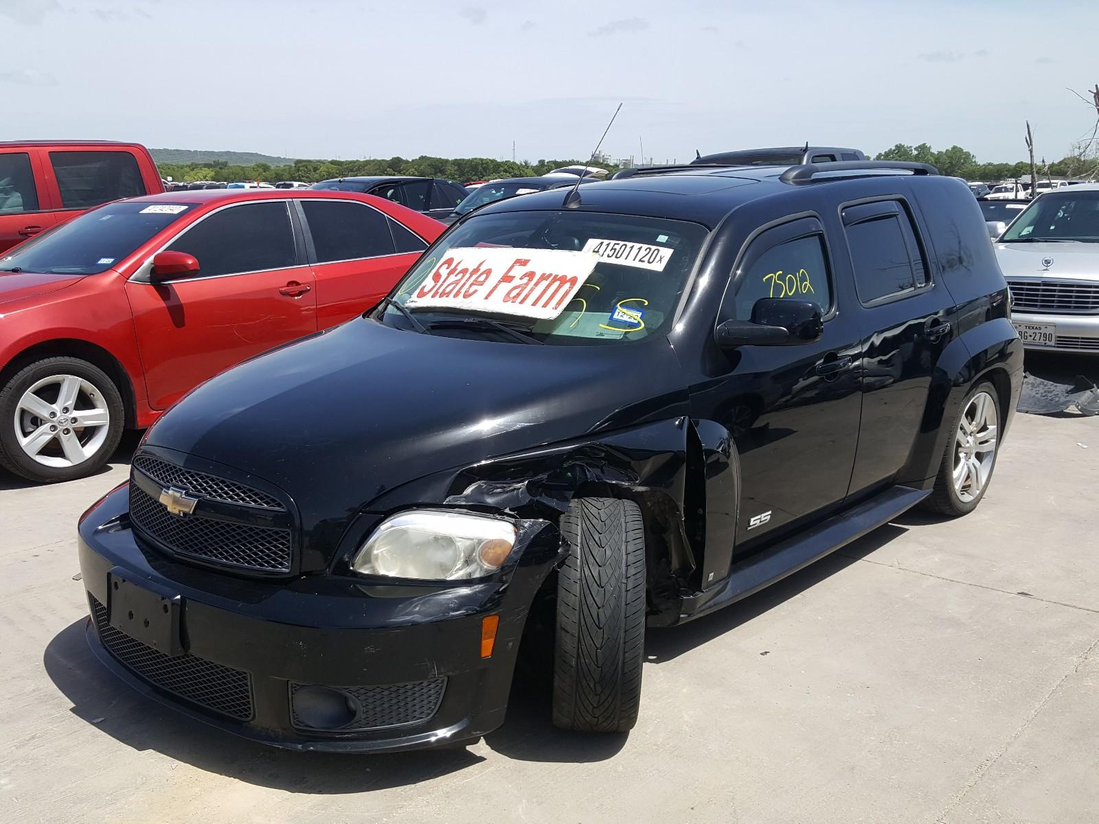 2009 Chevrolet Hhr Ss For Sale At Copart Grand Prairie Tx Lot