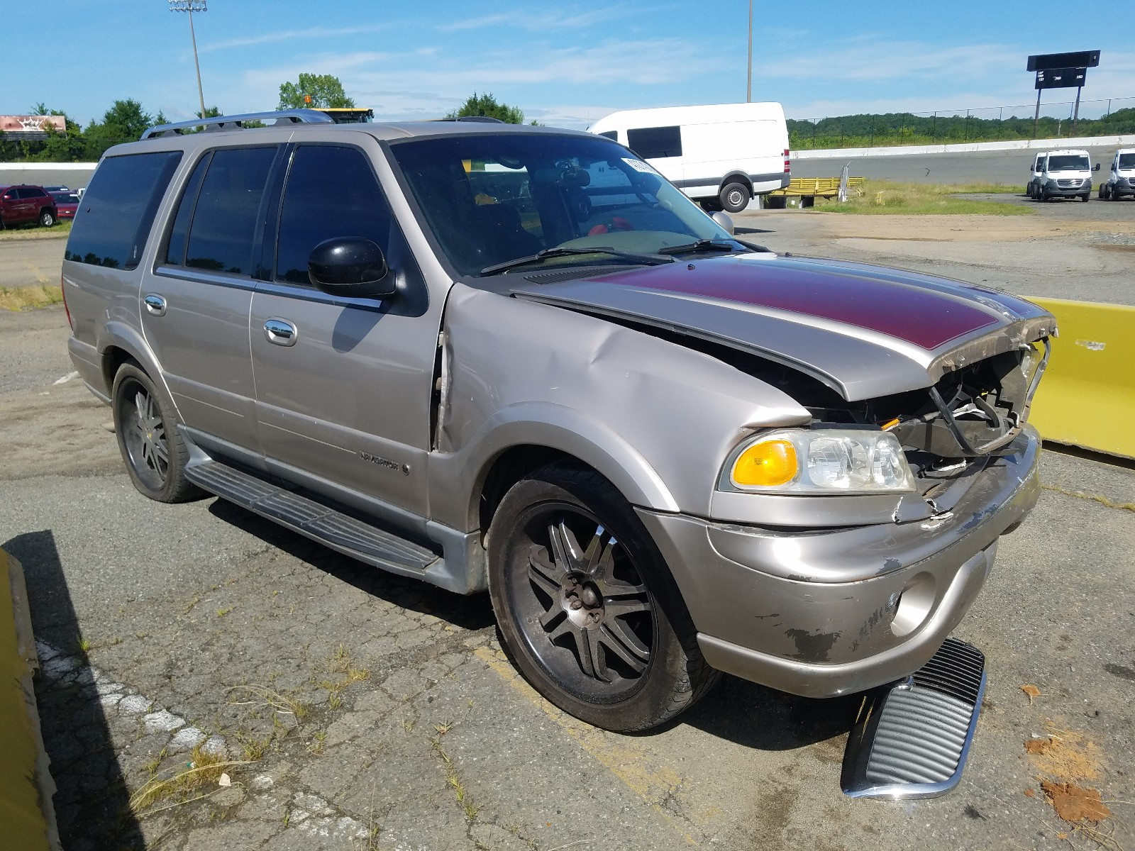 2002 lincoln navigator for sale at copart concord nc lot 41274240 salvagereseller com salvagereseller com